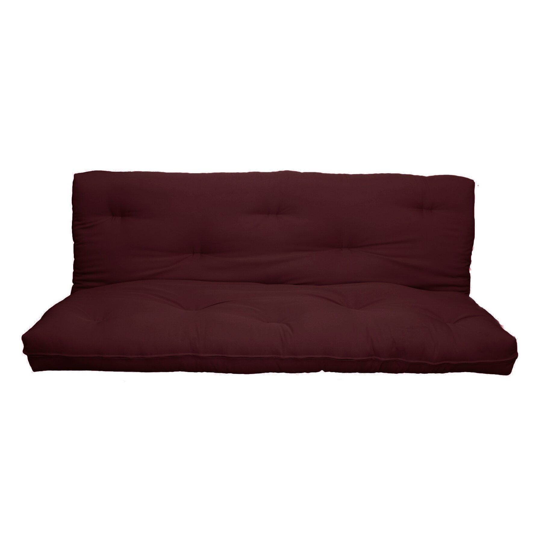 Milton green star 6quot replacement full size futon mattress for Full size futon dimensions