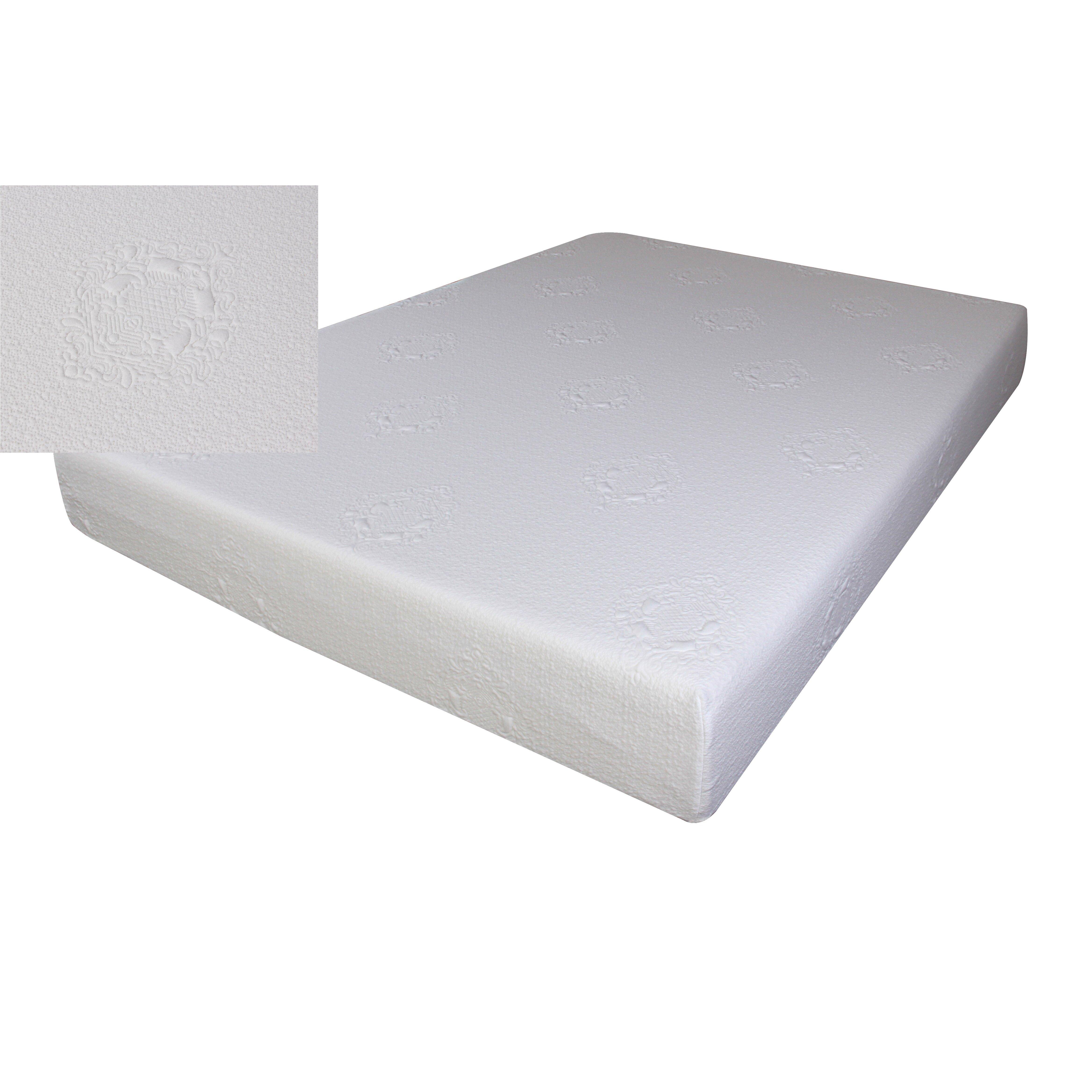 Milton Green Star 8 Memory Foam Mattress Wayfair