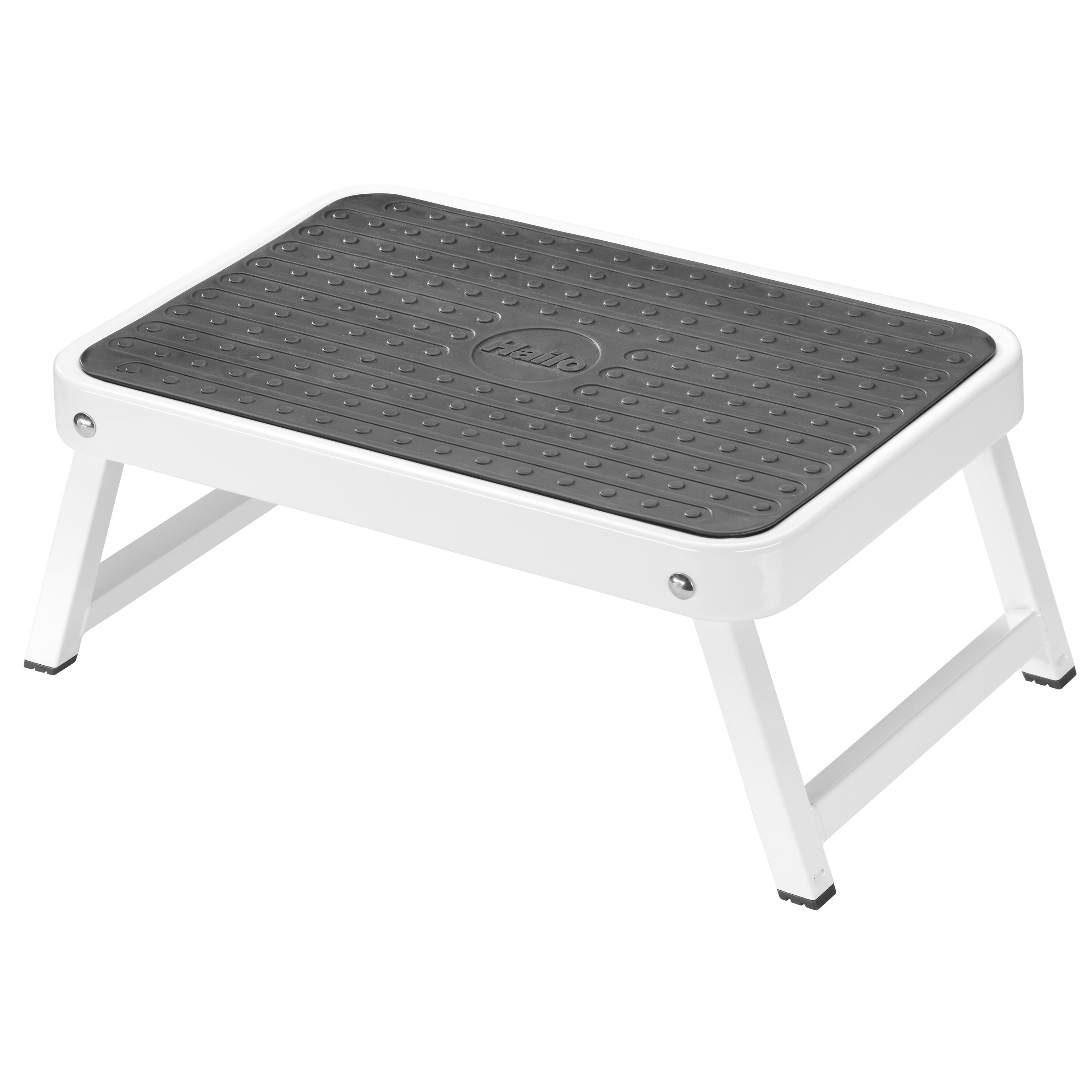Hailo Usa Inc 1 Step Steel Step Stool With 330 Lb Load