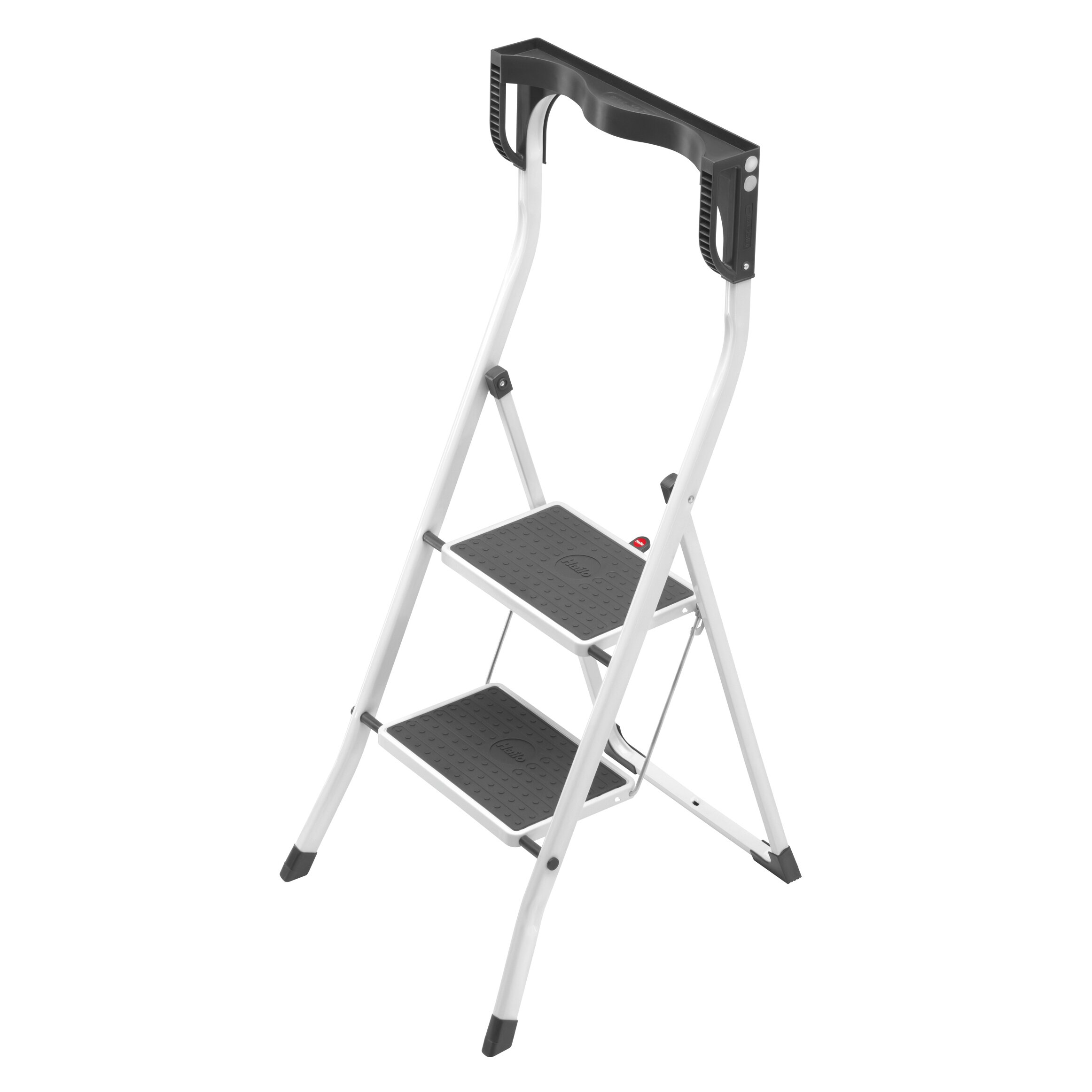 Hailo Usa Inc 2 Step Steel Safety Plus Step Stool With