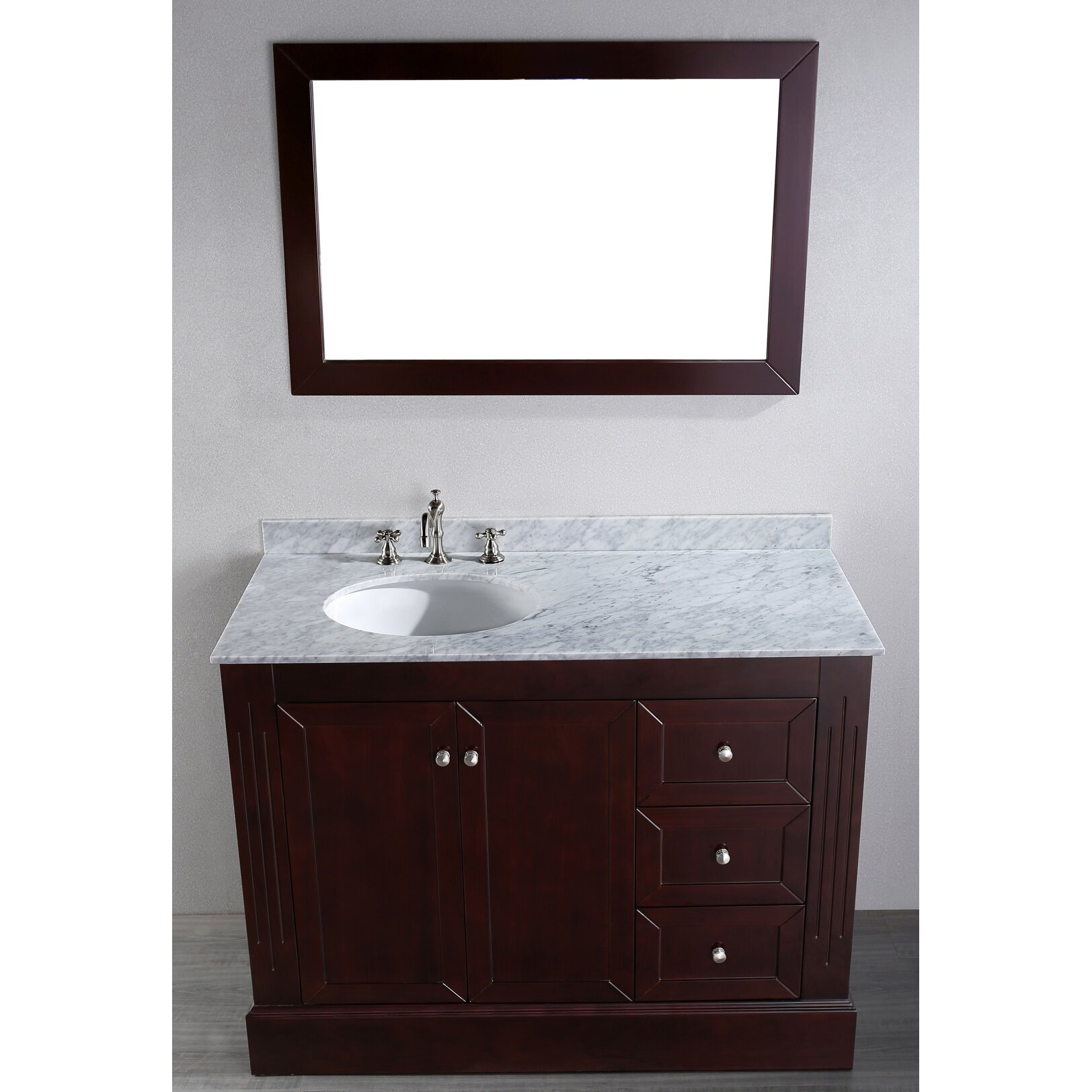 bosconi contemporary 45 quot single bathroom vanity set with