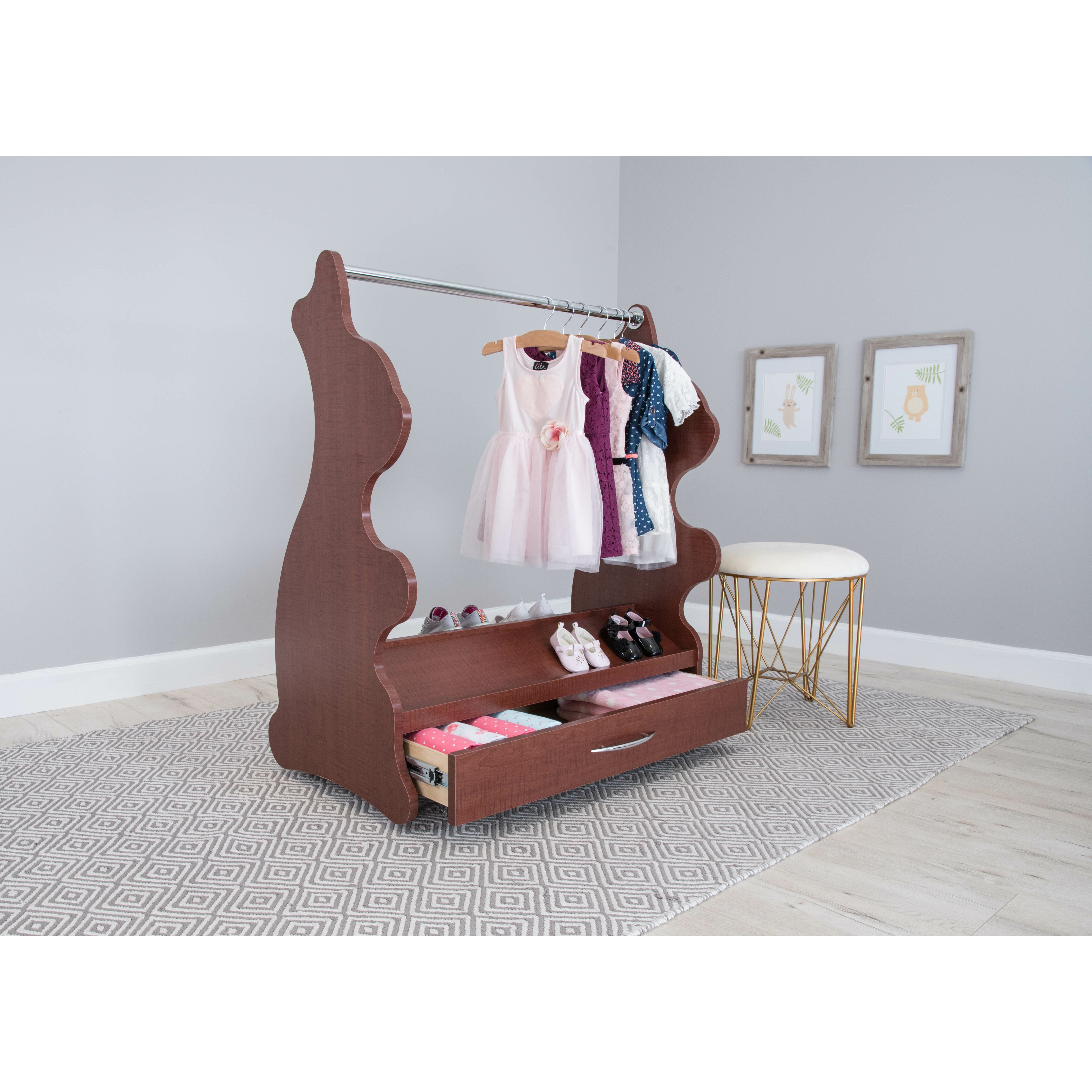 Ace Baby Furniture Rabbit Mobile Dress Up Clothes and Shoe