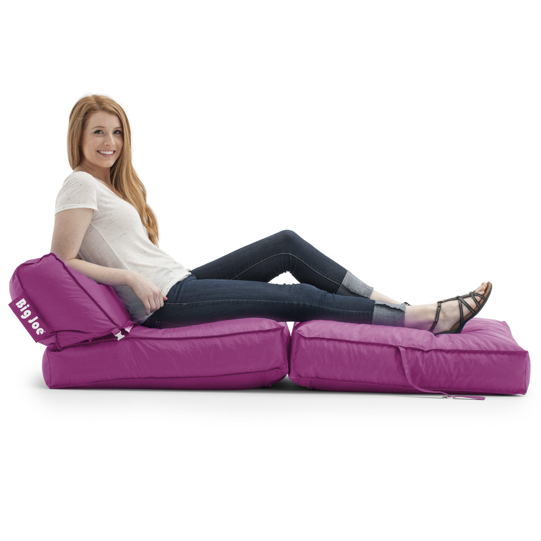 Comfort Research Big Joe Bean Bag Lounger Amp Reviews Wayfair