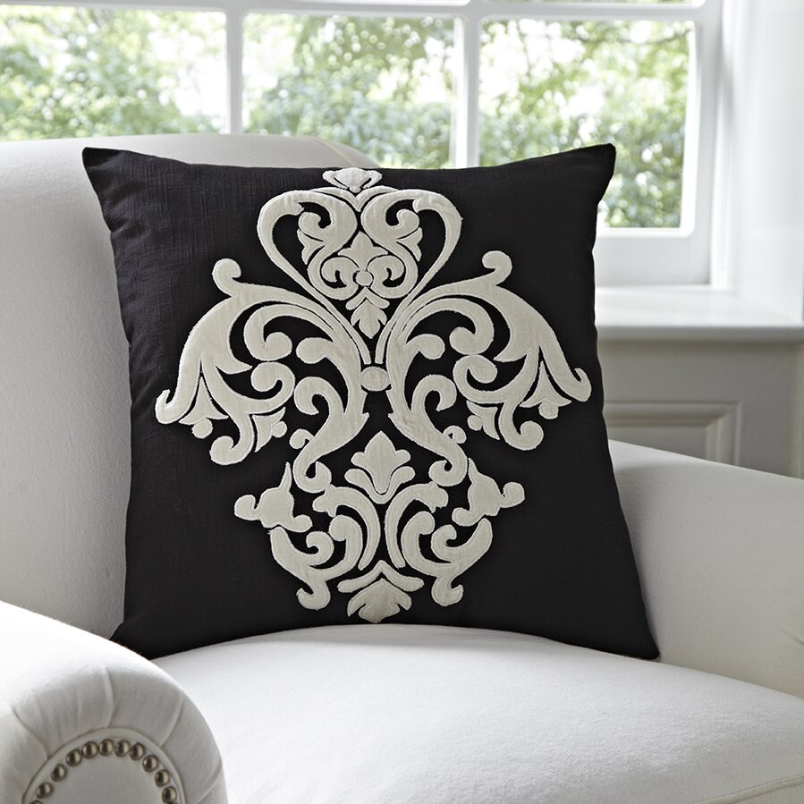 Wayfair Decorative Pillow Covers : Birch Lane Leah Pillow Cover & Reviews Wayfair
