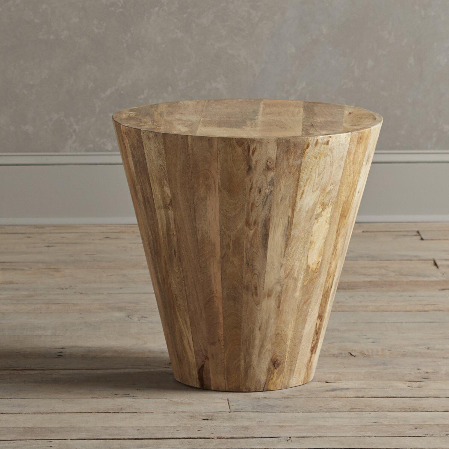 Birch Lane Timber Side Table Amp Reviews Wayfair
