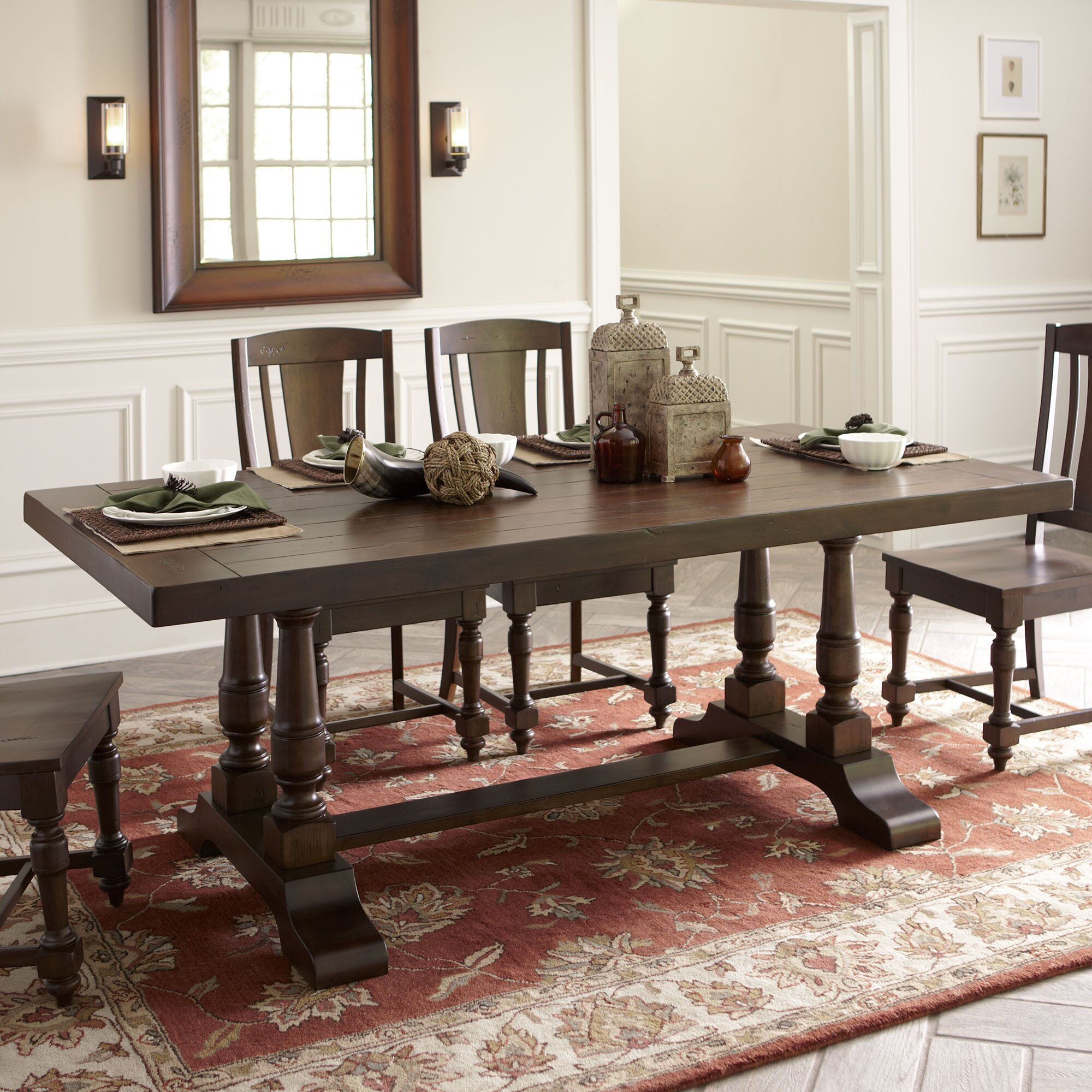 Birch Lane Rollins Extending Dining Table: Birch Lane Barrow Dining Table & Reviews