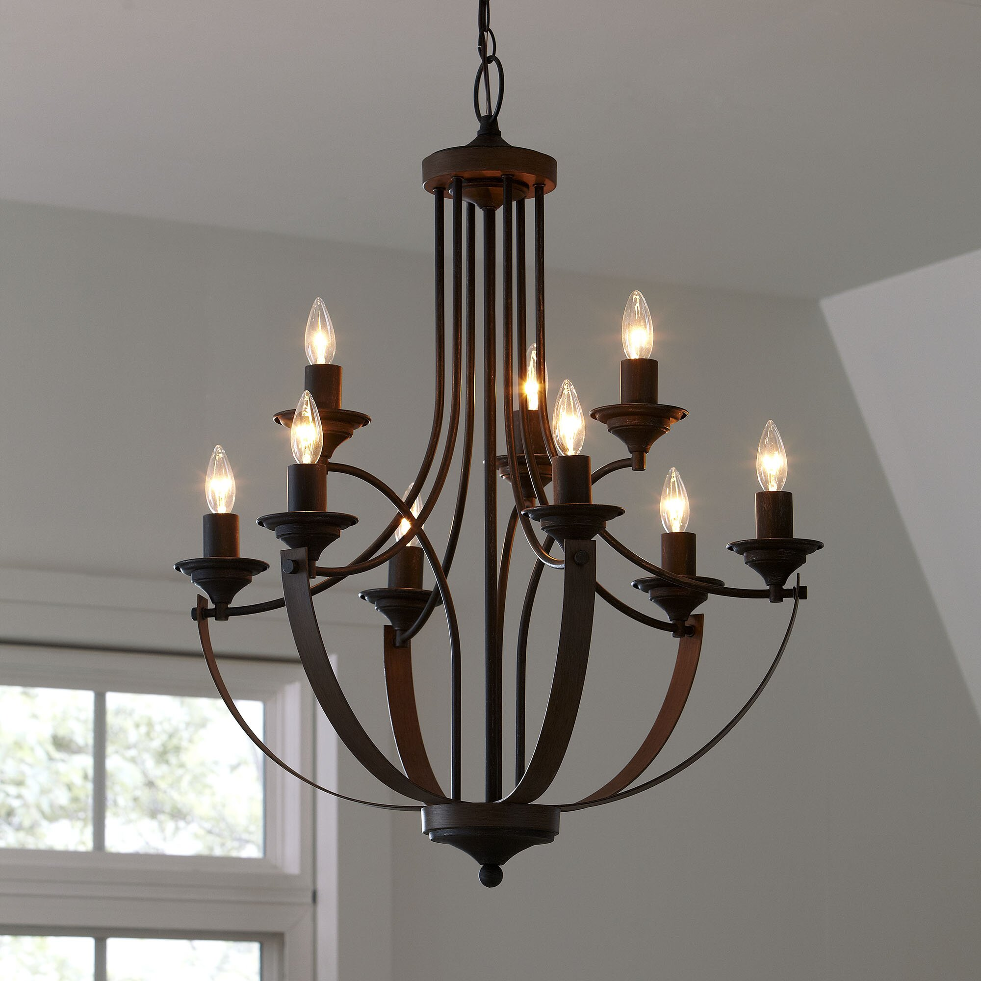 Birch lane camilla chandelier reviews wayfair - Light fixtures chandeliers ...