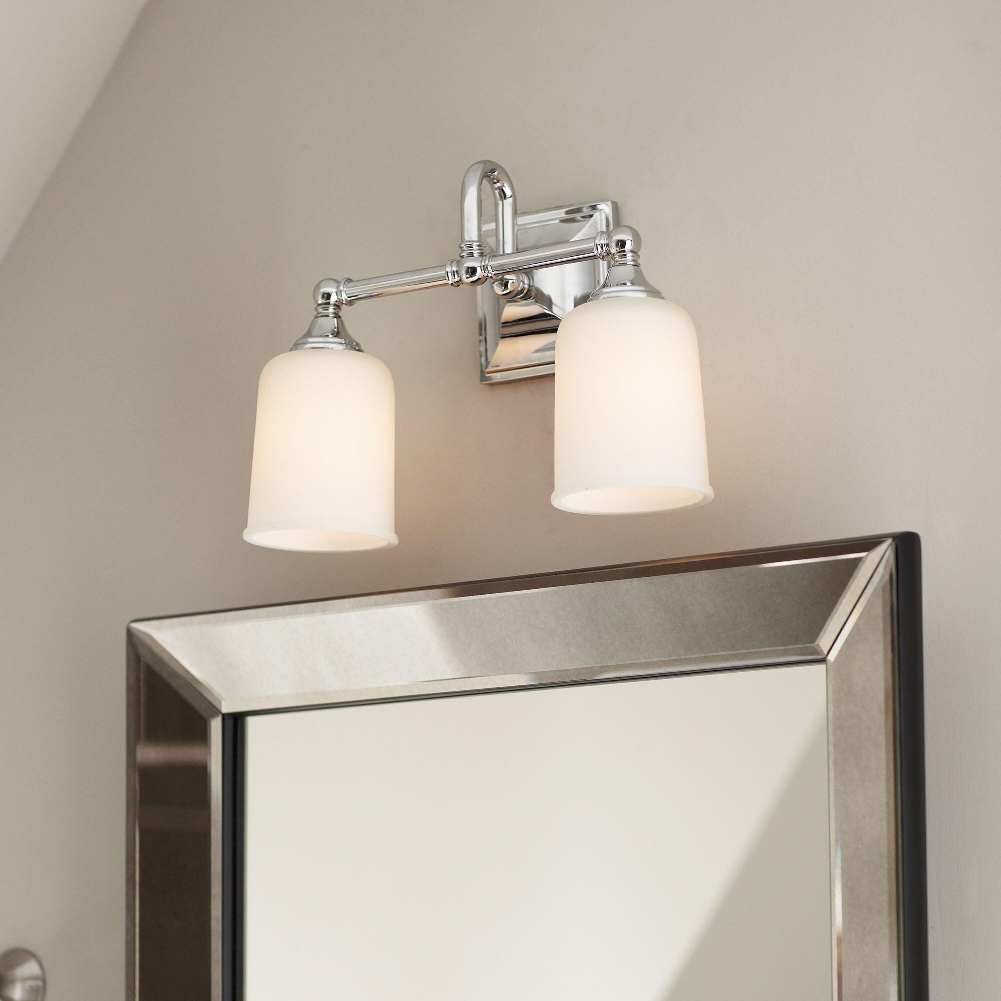 Birch Lane Beacon 2 Bulb Vanity Light Amp Reviews Wayfair