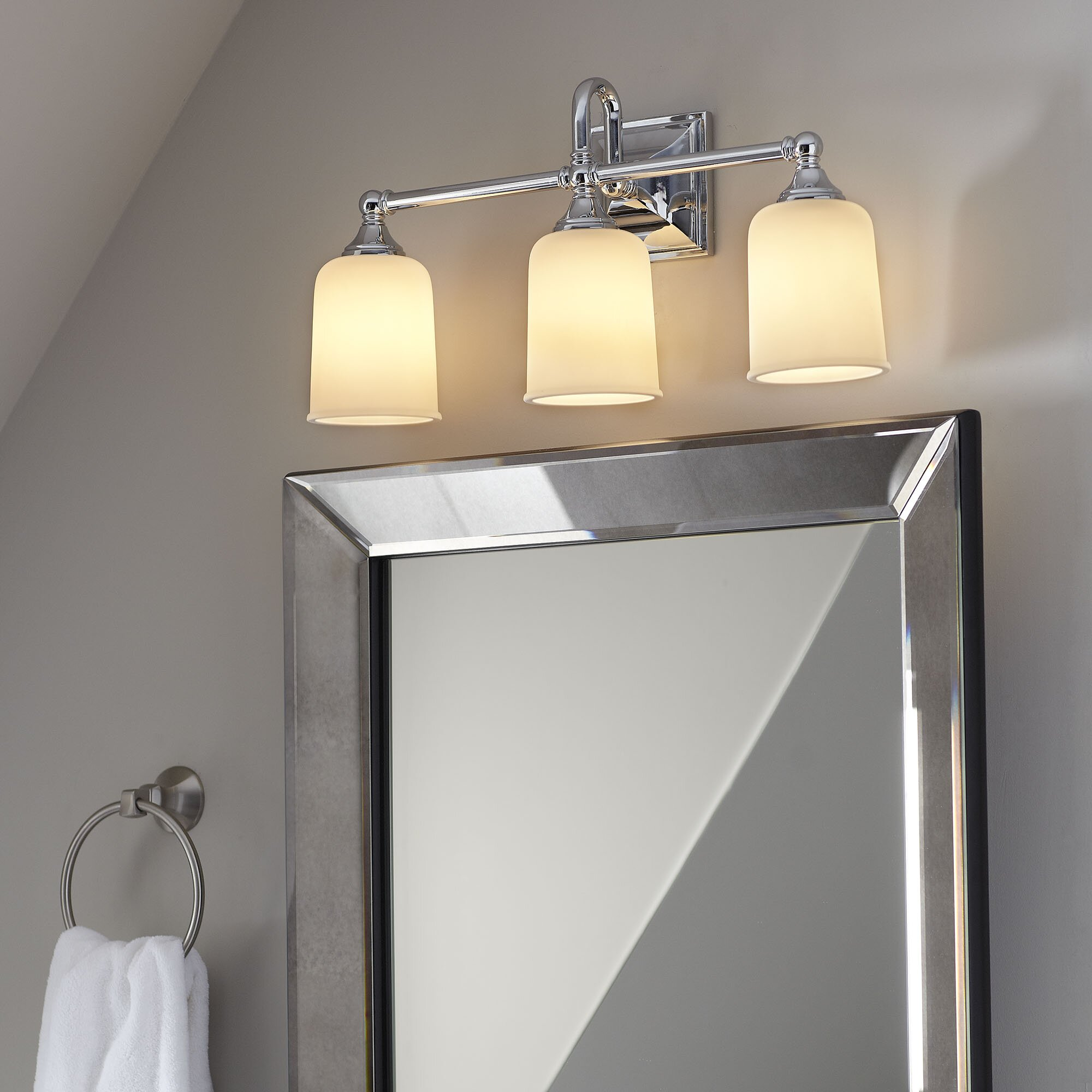 Birch Lane Beacon 3-Bulb Vanity Light & Reviews Wayfair