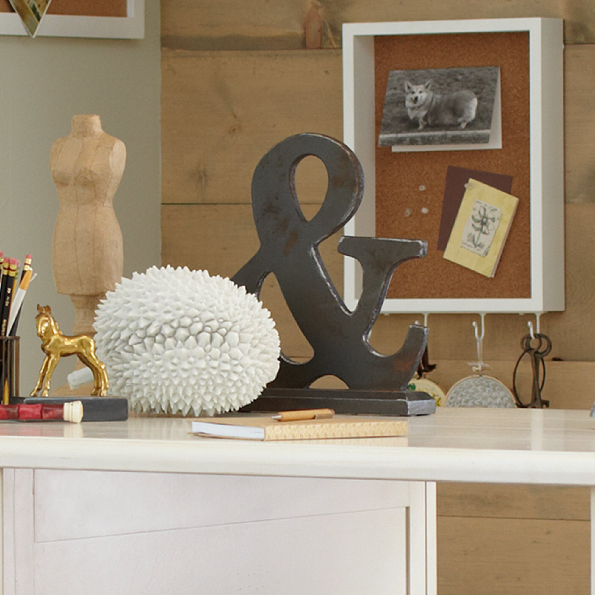 Birch lane ampersand decor reviews wayfair for Ampersand decor