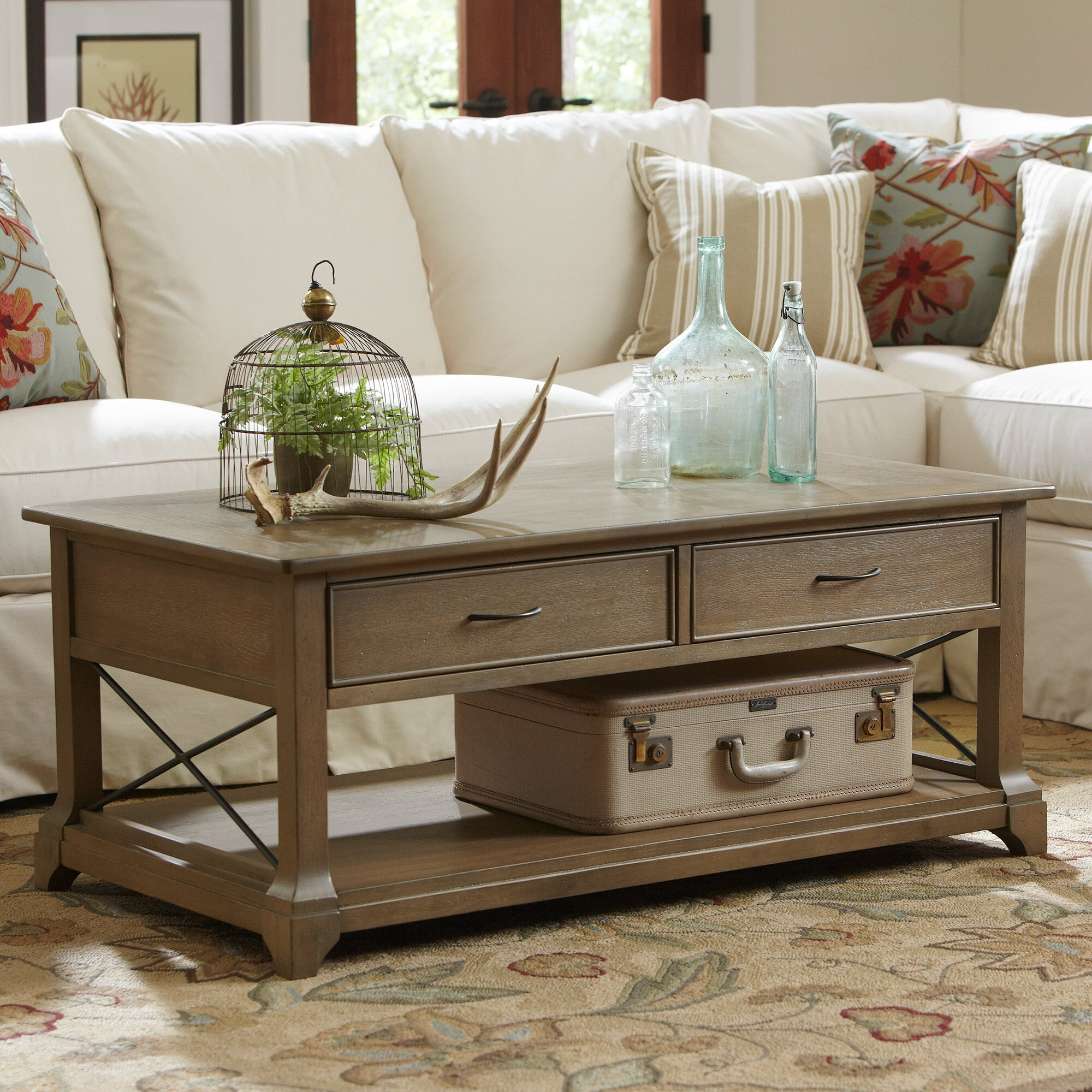 Birch Lane Kenmore Coffee Table & Reviews