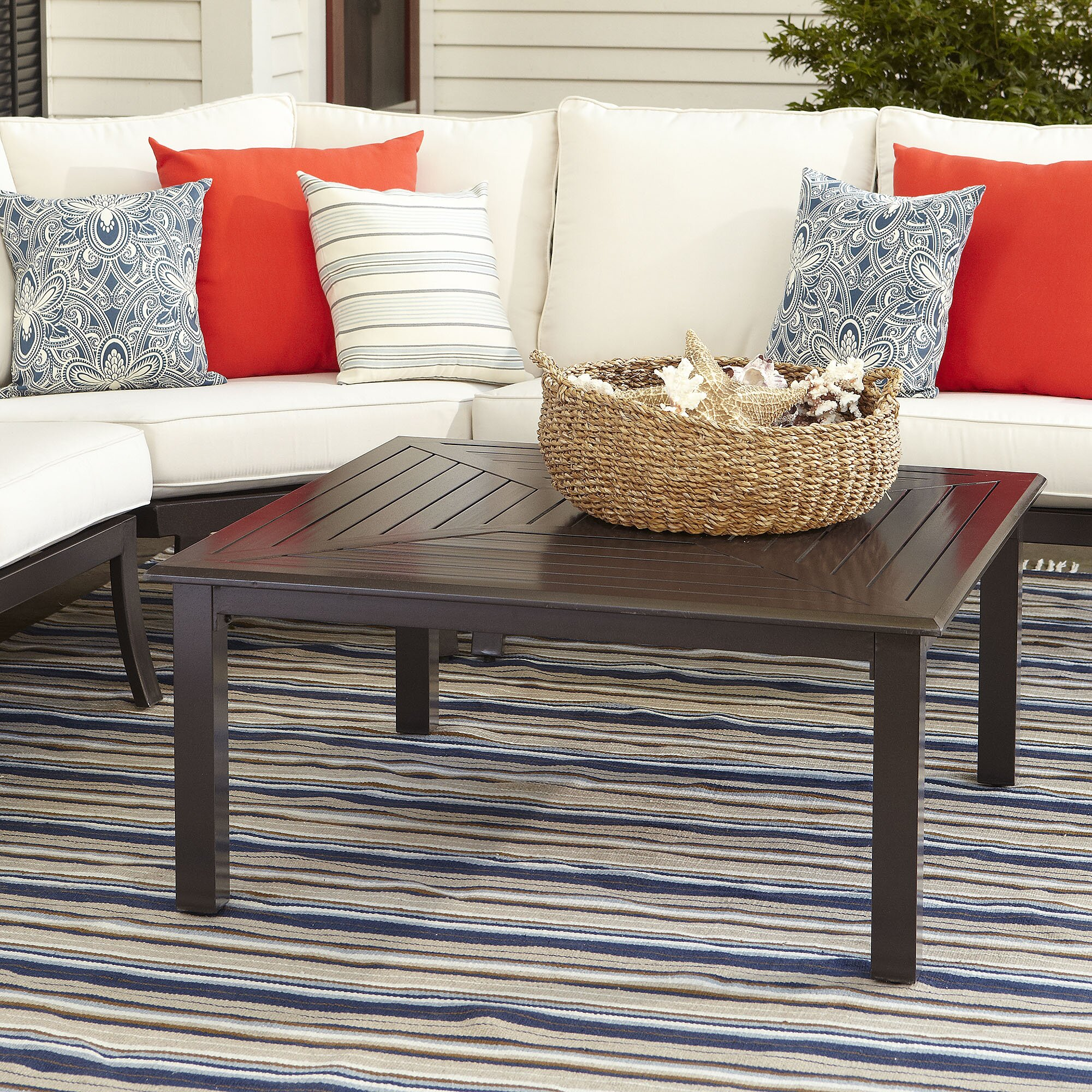 Lane Sliding Door Coffee Table: Birch Lane Endicott Coffee Table & Reviews