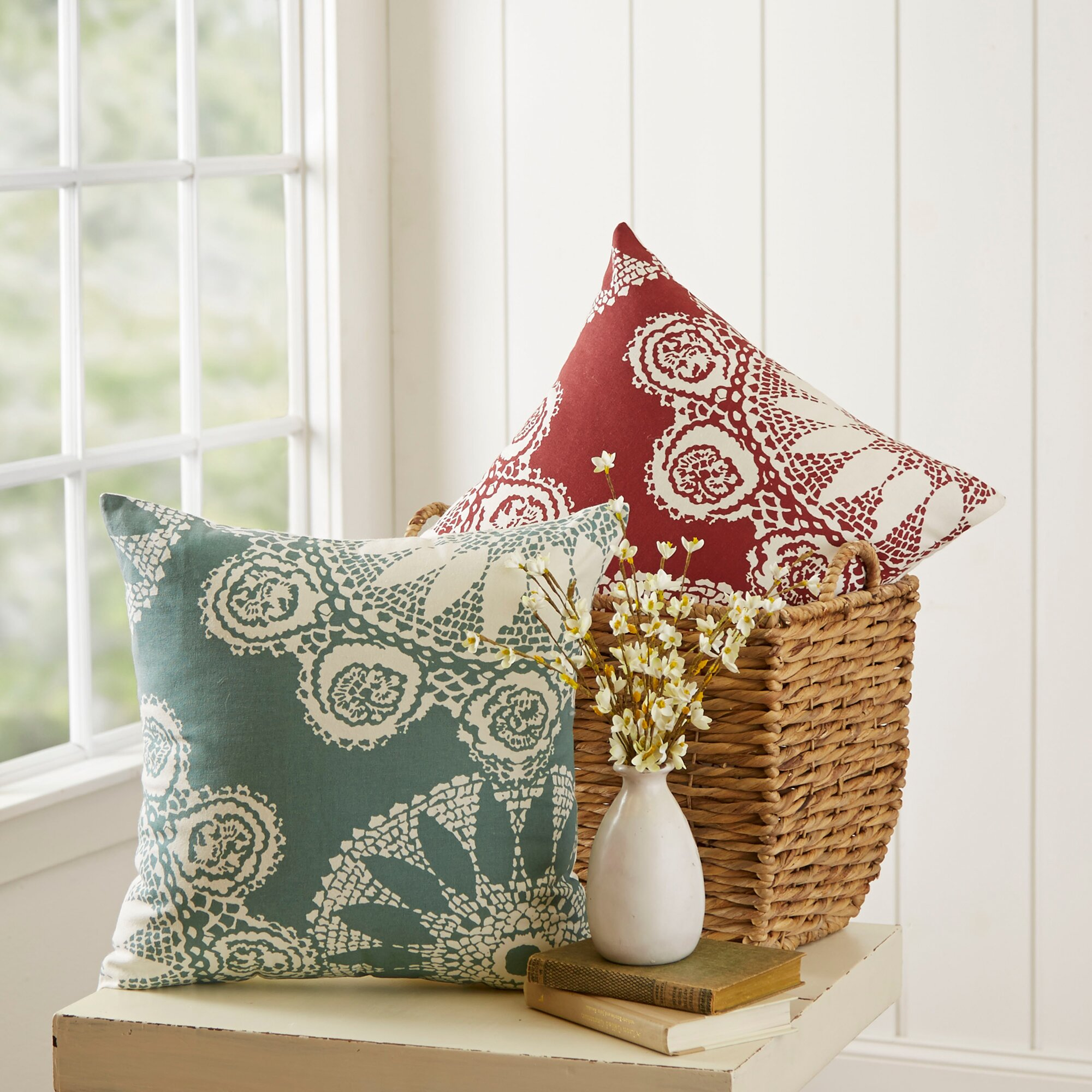 Wayfair Decorative Pillow Covers : Birch Lane Isla Pillow Cover & Reviews Wayfair.ca
