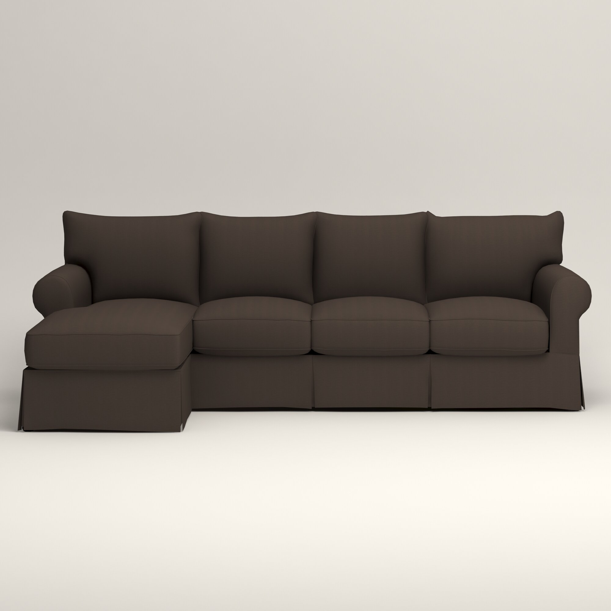 Birch Lane Jameson Sofa With Chaise Amp Reviews Wayfair