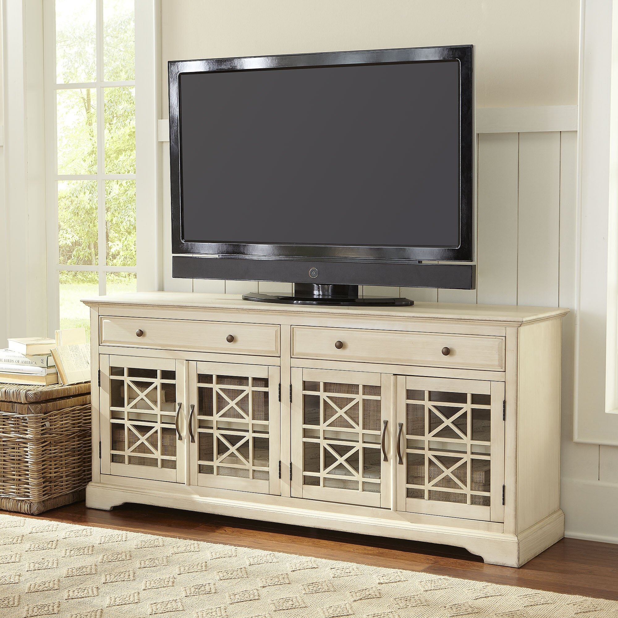Birch Lane Hubert TV Stand & Reviews