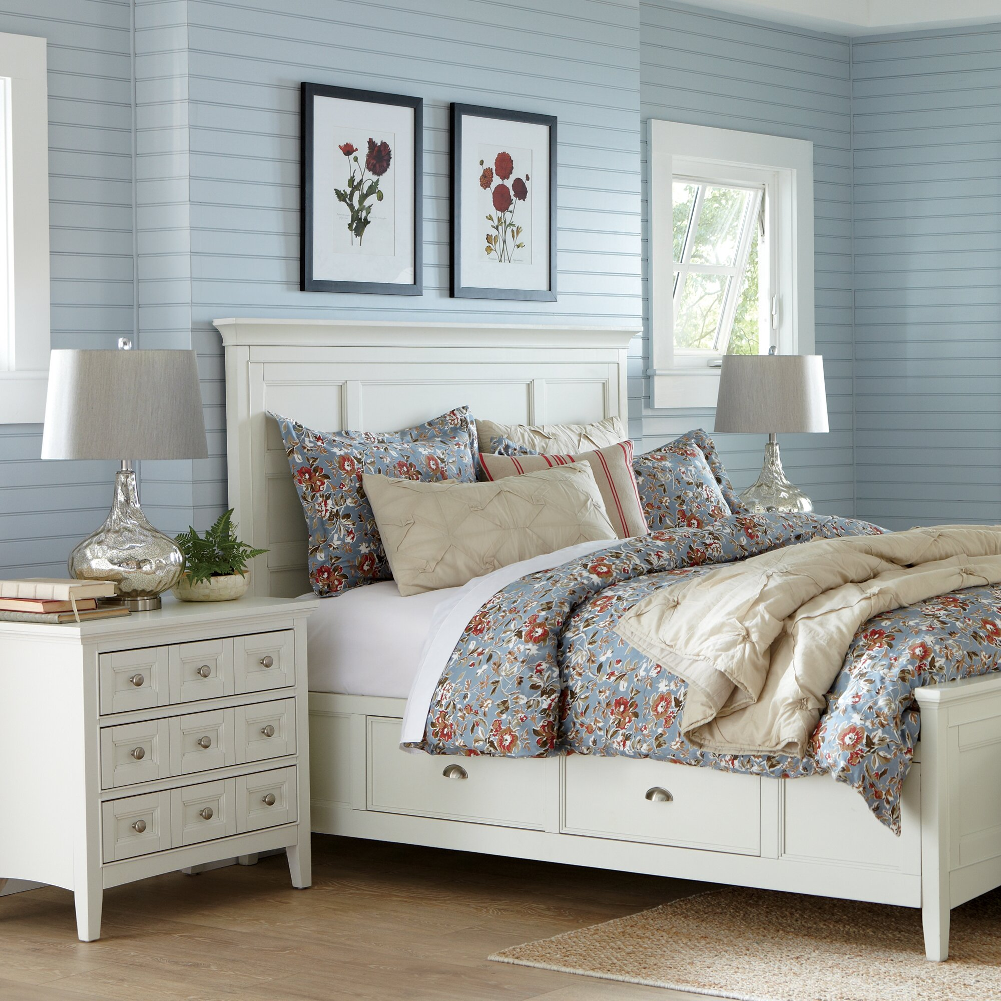 Birch Lane Tilton Storage Panel Bed & Reviews