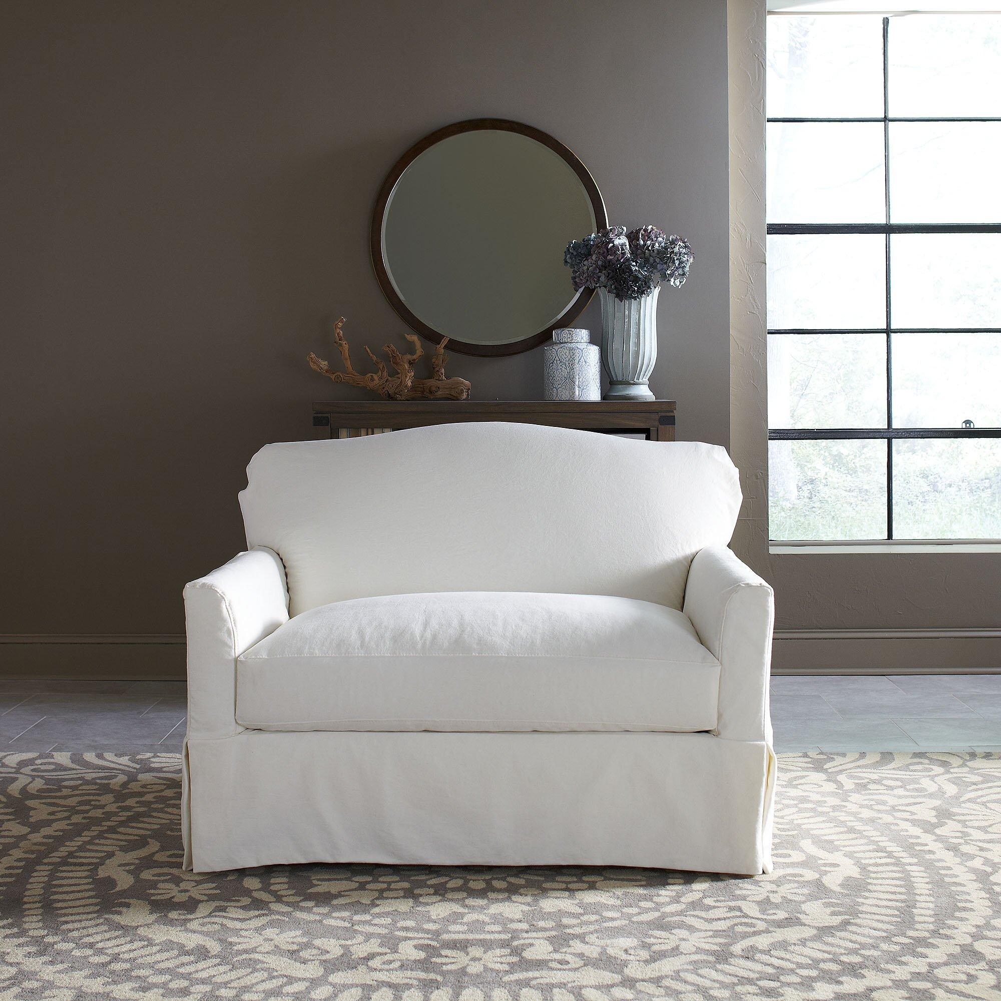 Birch Lane Fairchild Slipcovered Chair Amp Reviews Wayfair