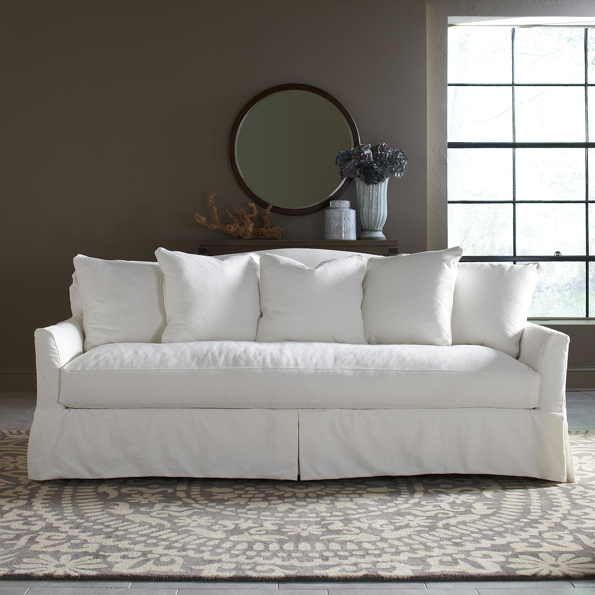 Birch Lane Fairchild Slipcovered Sofa Reviews Wayfair