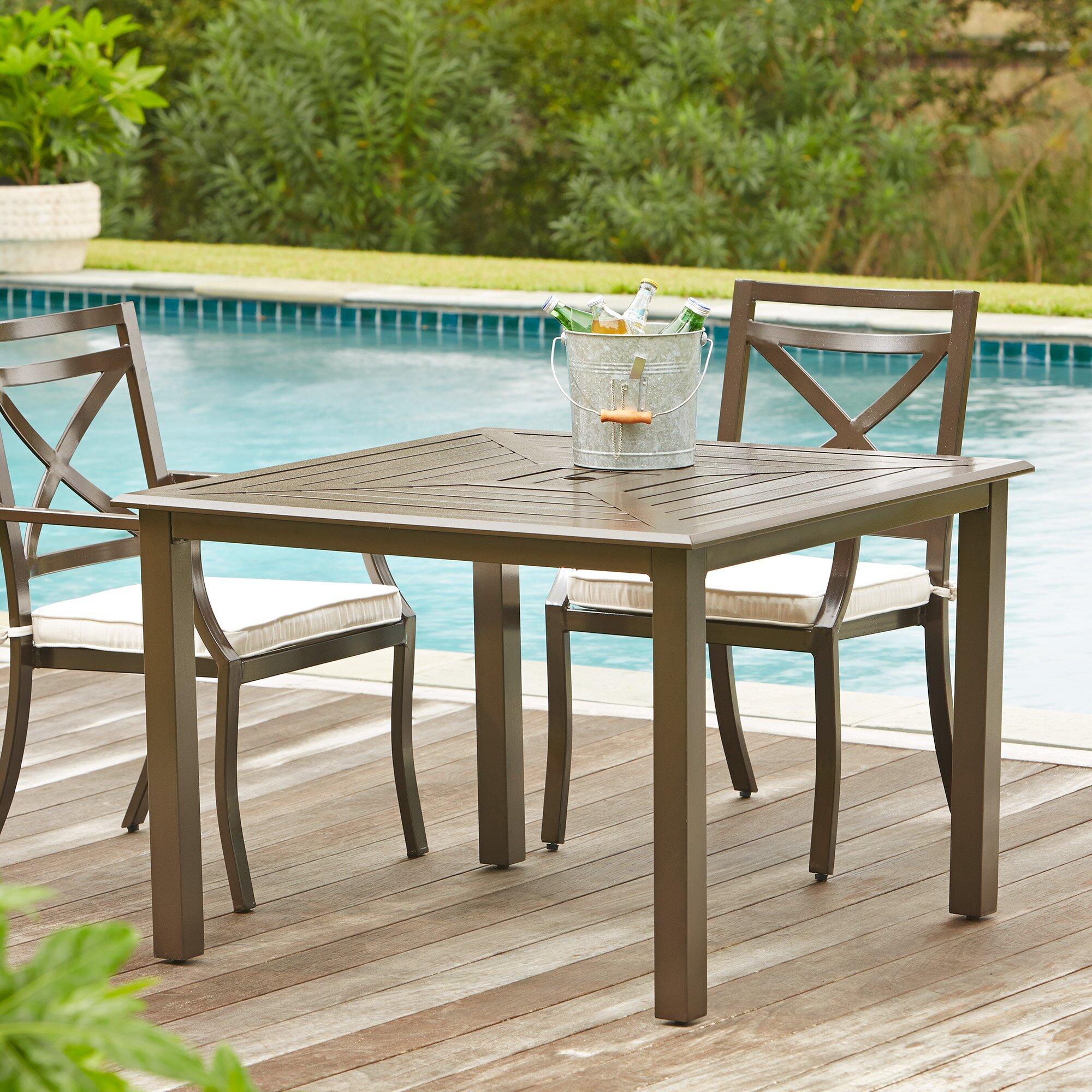 Birch lane endicott square dining table reviews wayfair for Dining room endicott
