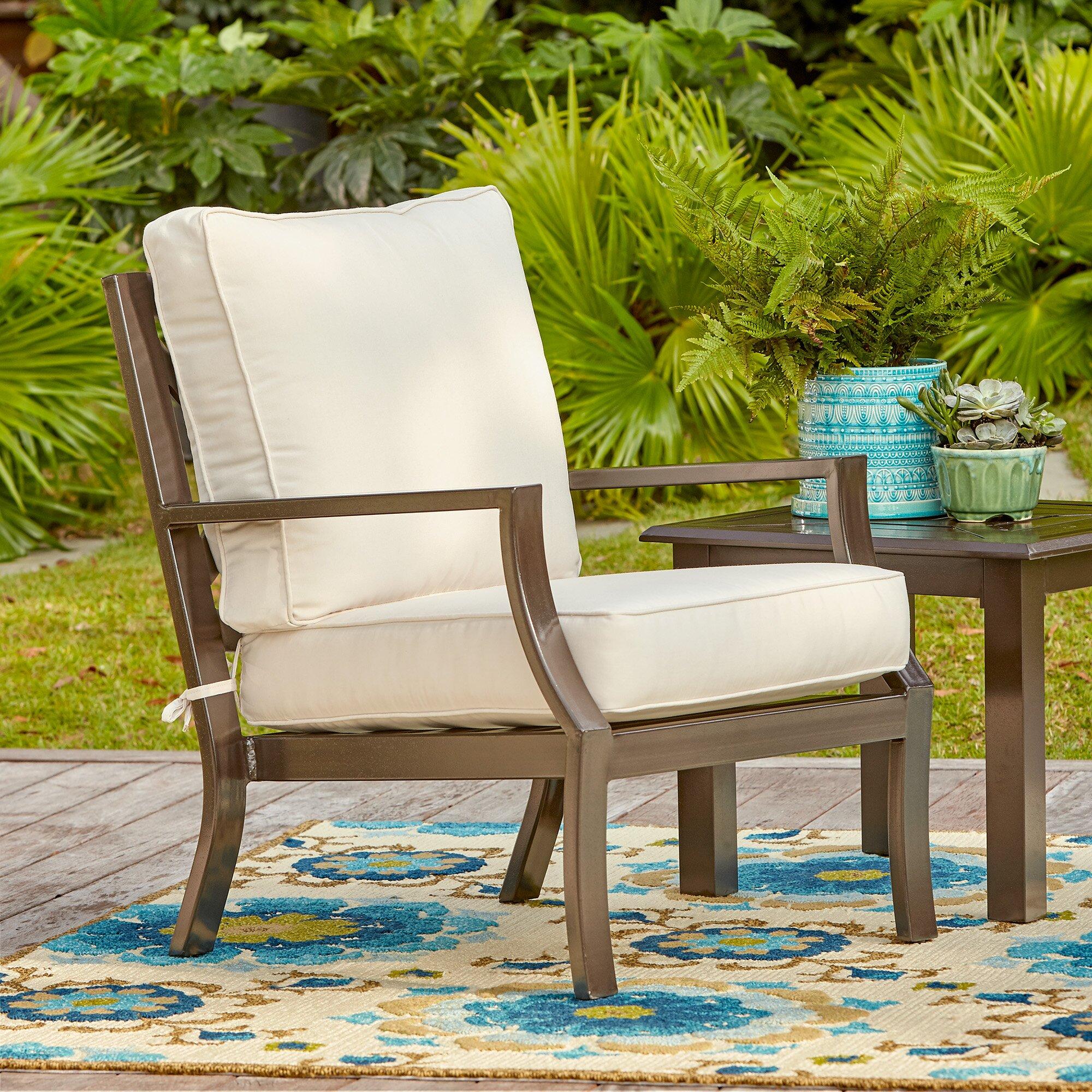 Birch Lane Endicott Chair With Sunbrella Cushions
