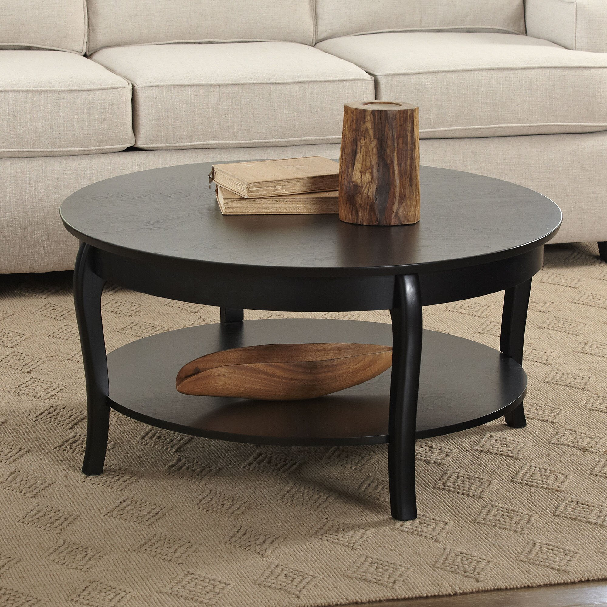 Birch Lane Alberts Round Coffee Table & Reviews