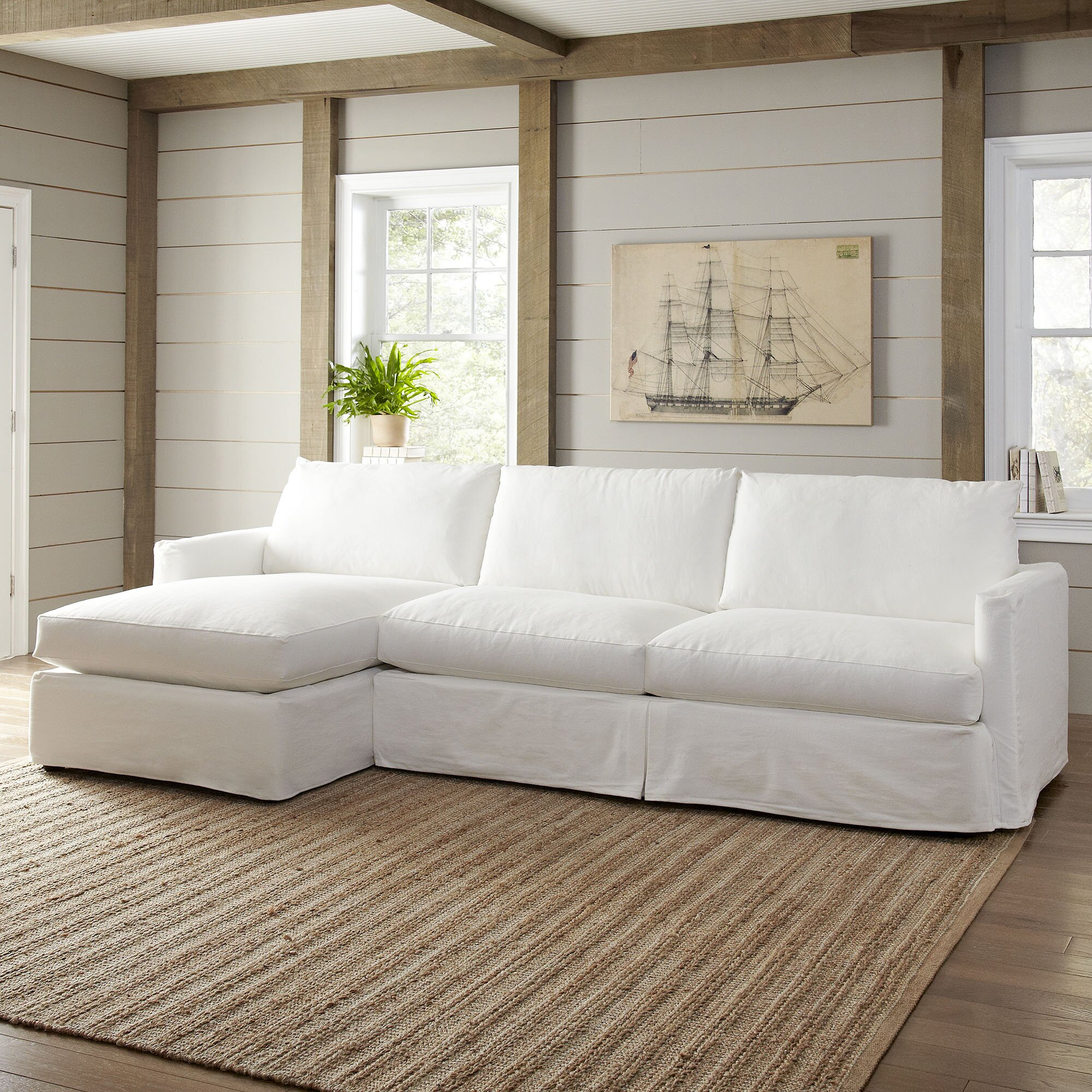 Birch Lane Kearney Sectional Reviews Wayfair