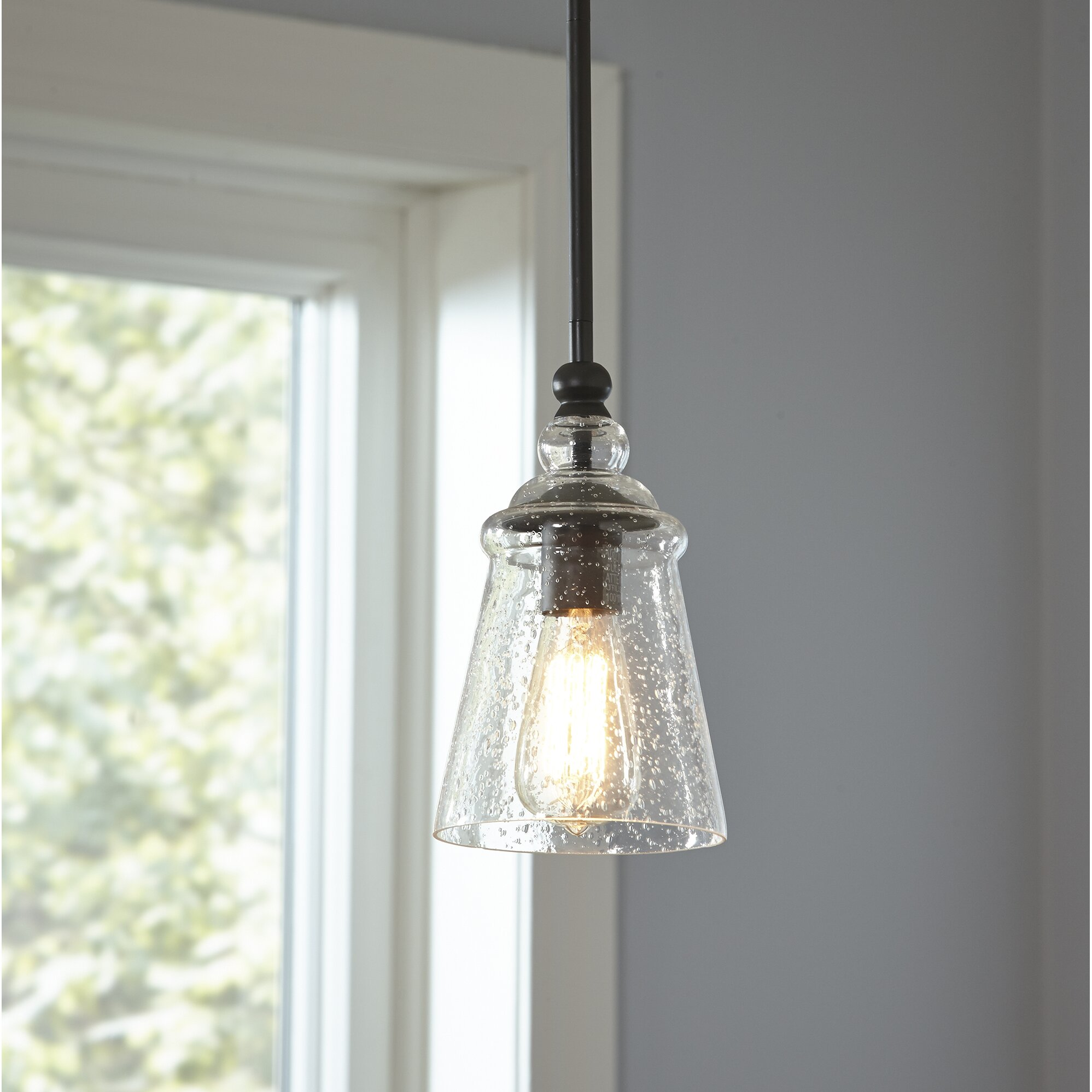 Single Pendant Lighting Over Kitchen Sink