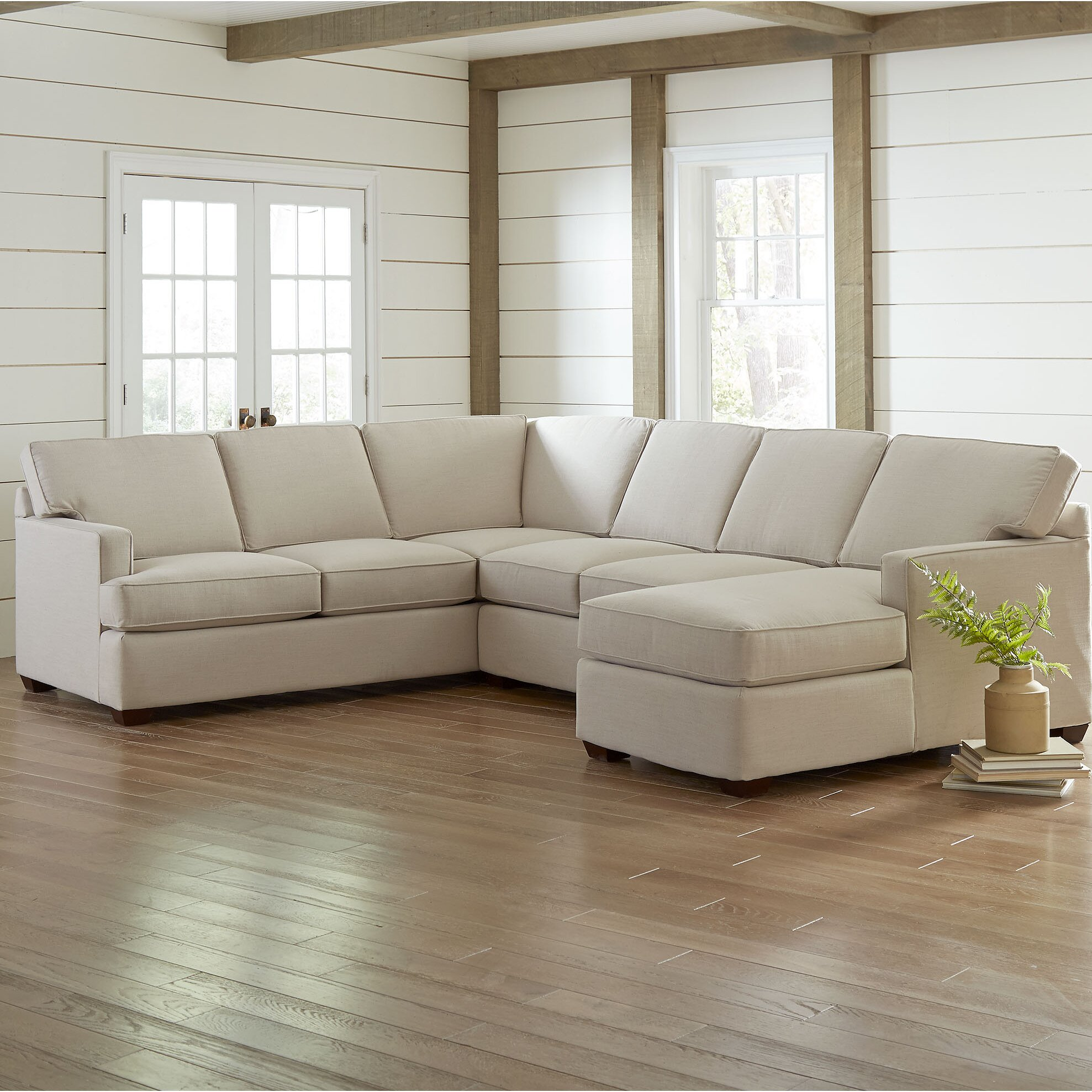 Birch Lane Evanston Sectional Reviews Wayfair