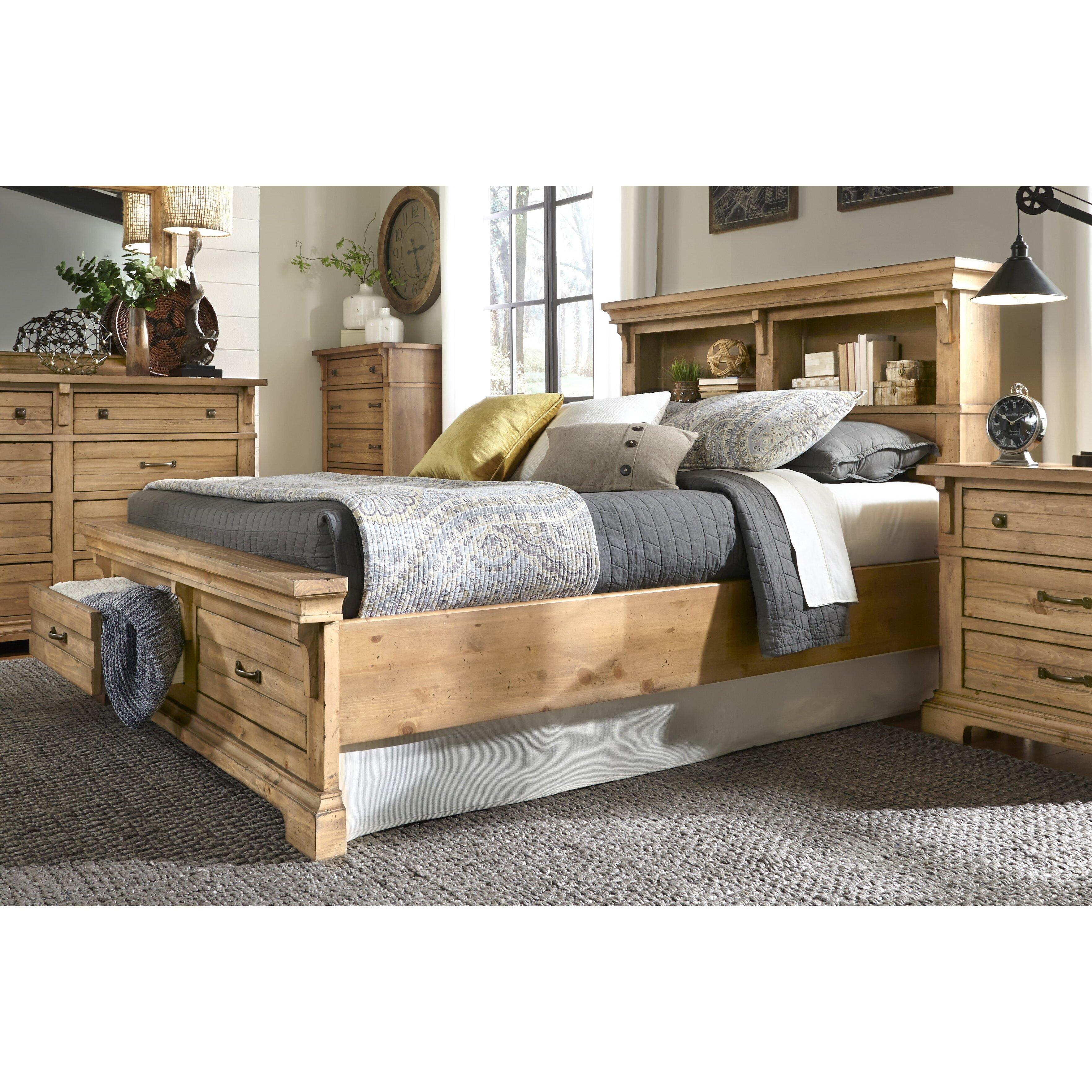 Progressive Furniture Chestnut Hill Bookcase With Storage