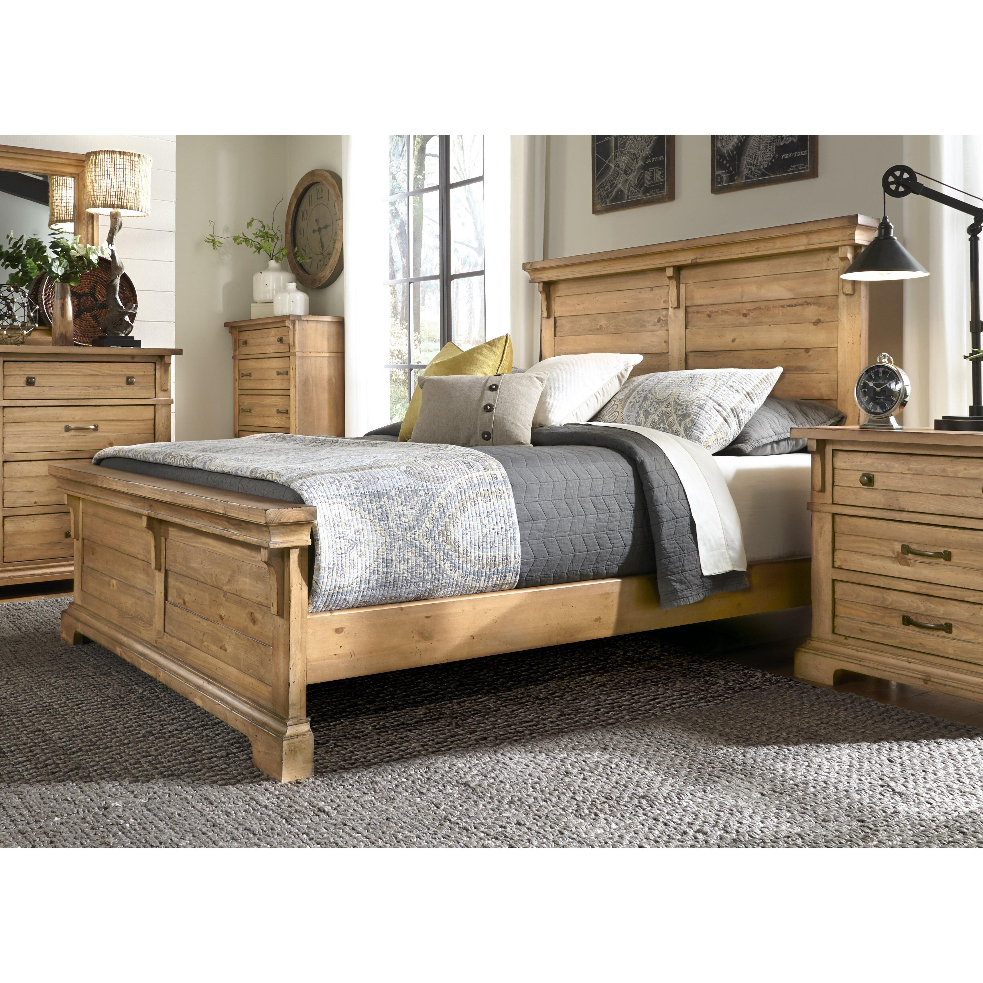 Progressive Furniture Chestnut Hill Panel Customizable Bedroom Set Wayfair