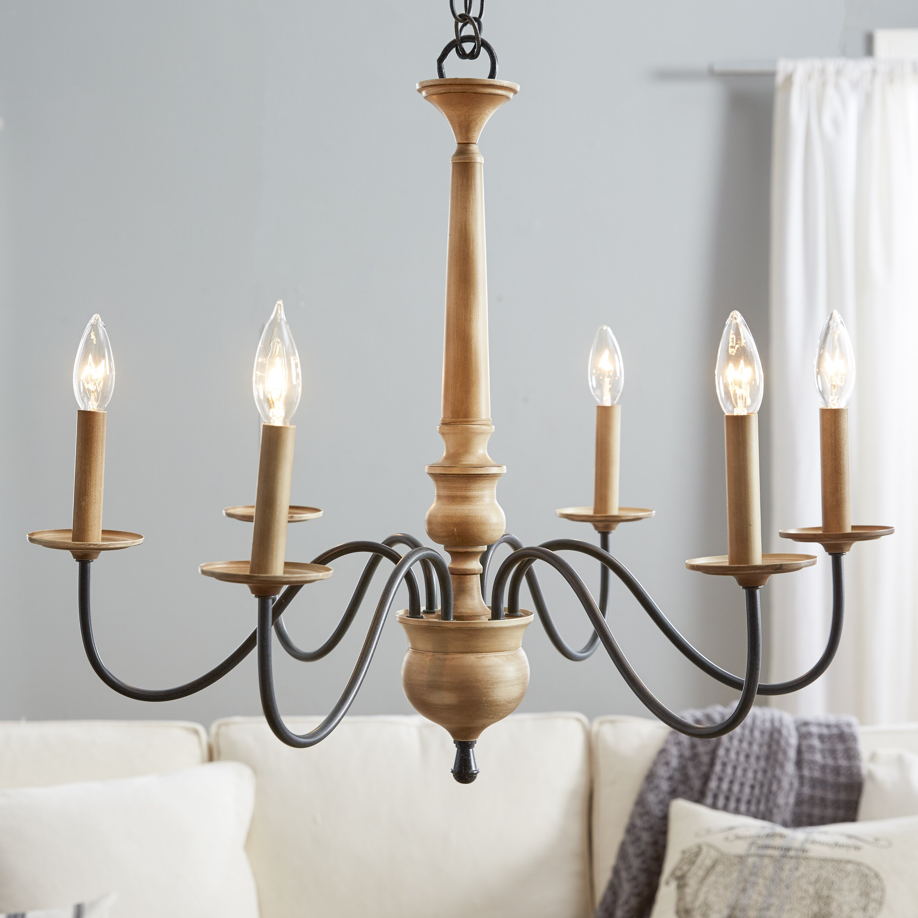 Wayfair Dining Room Lighting: Birch Lane Edson 6 Light Candle-Style Chandelier & Reviews
