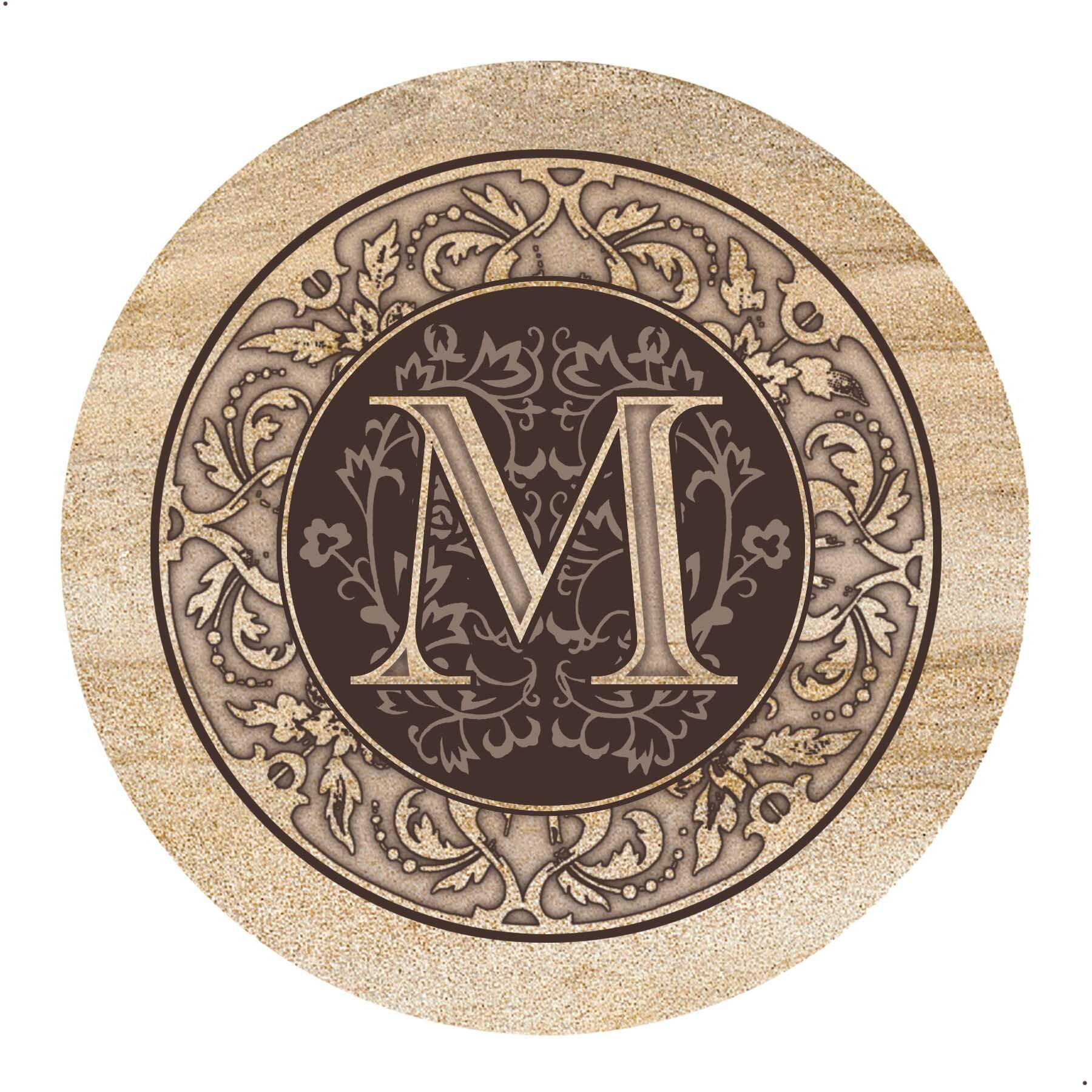 Thirstystone Monogram Coaster Amp Reviews Wayfair