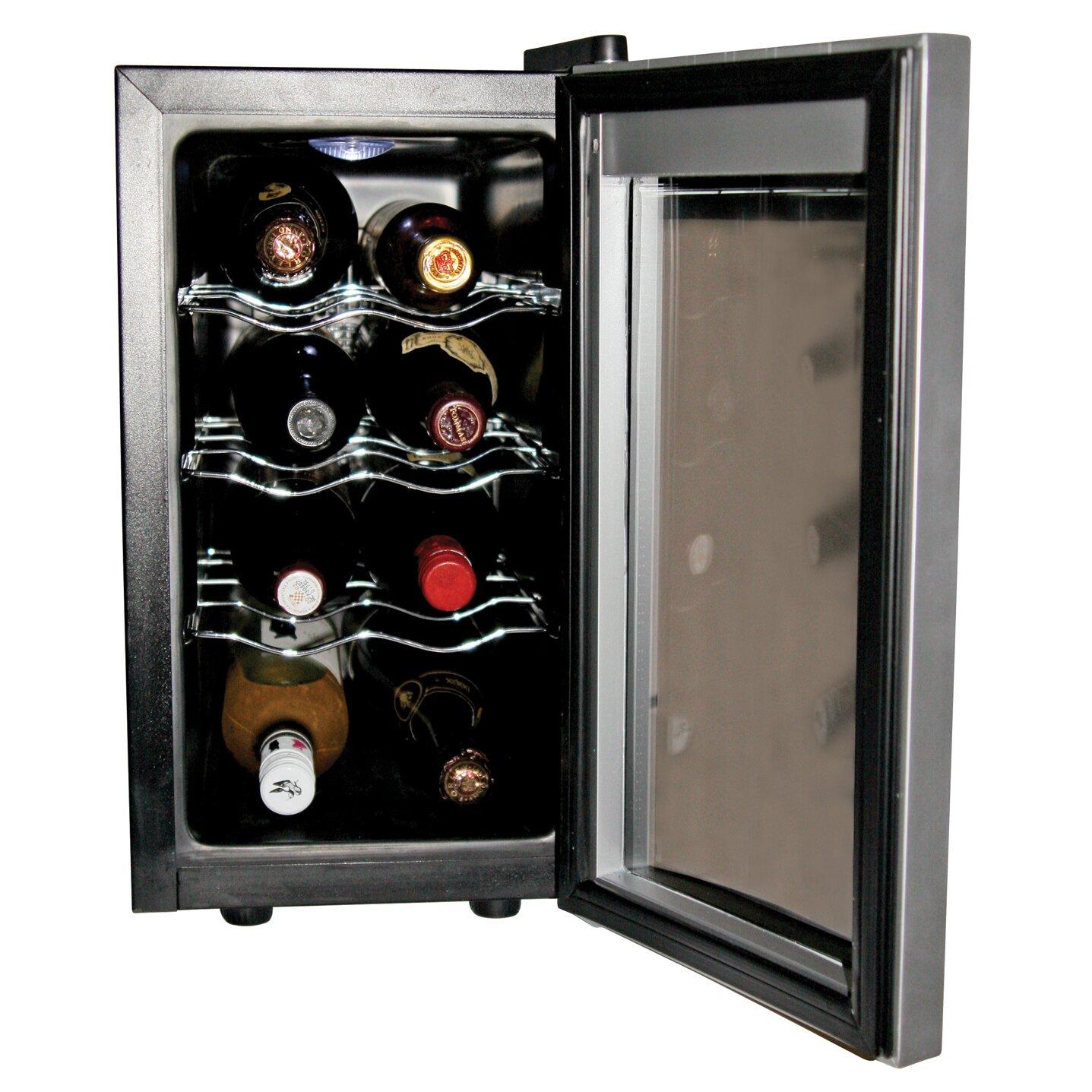 koolatron koolatron 8 bottle single zone built in wine refrigerator reviews wayfair. Black Bedroom Furniture Sets. Home Design Ideas