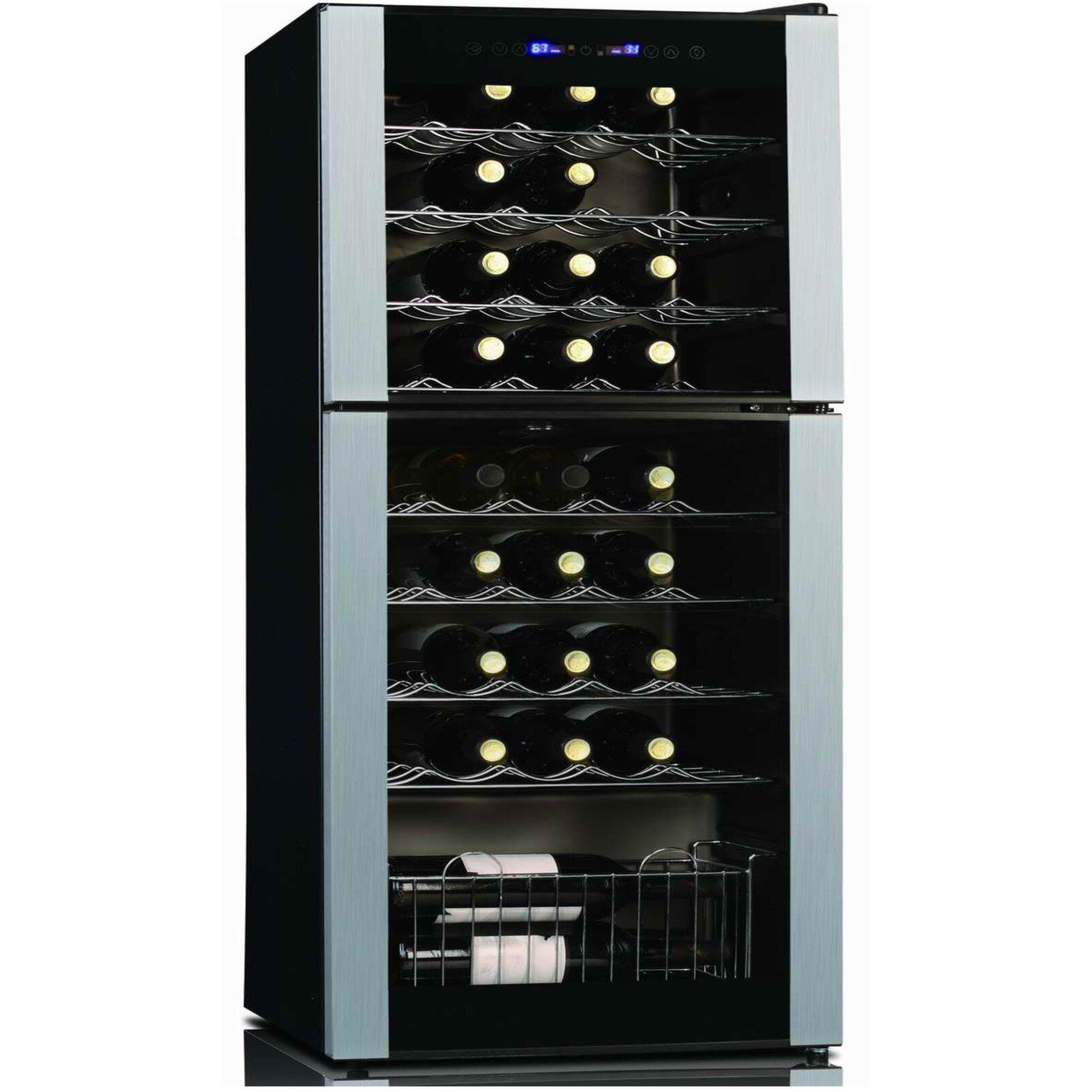 Koolatron Koolatron 45 Bottle Dual Zone Freestanding Wine