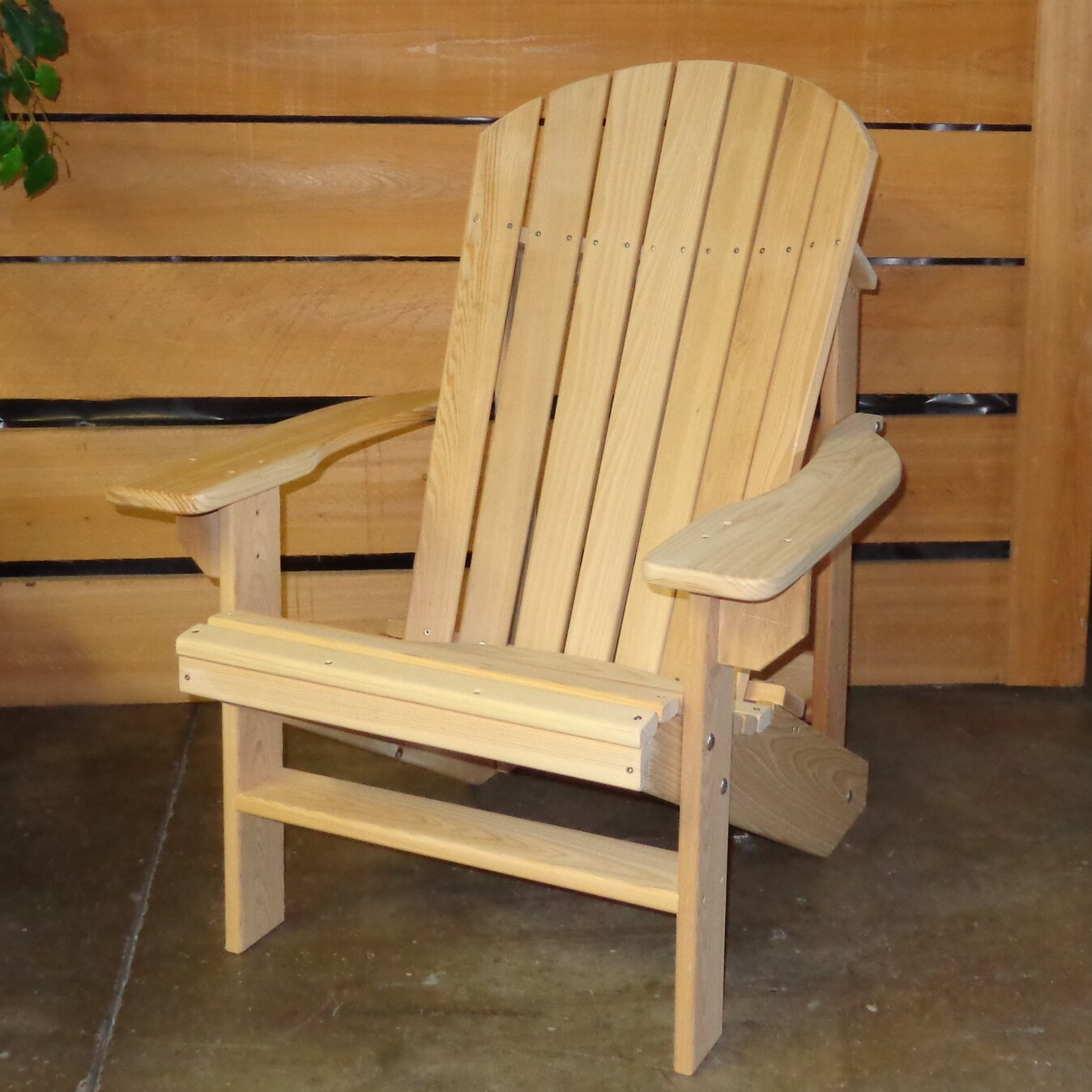 Hershy Way Adirondack Chair Wayfair