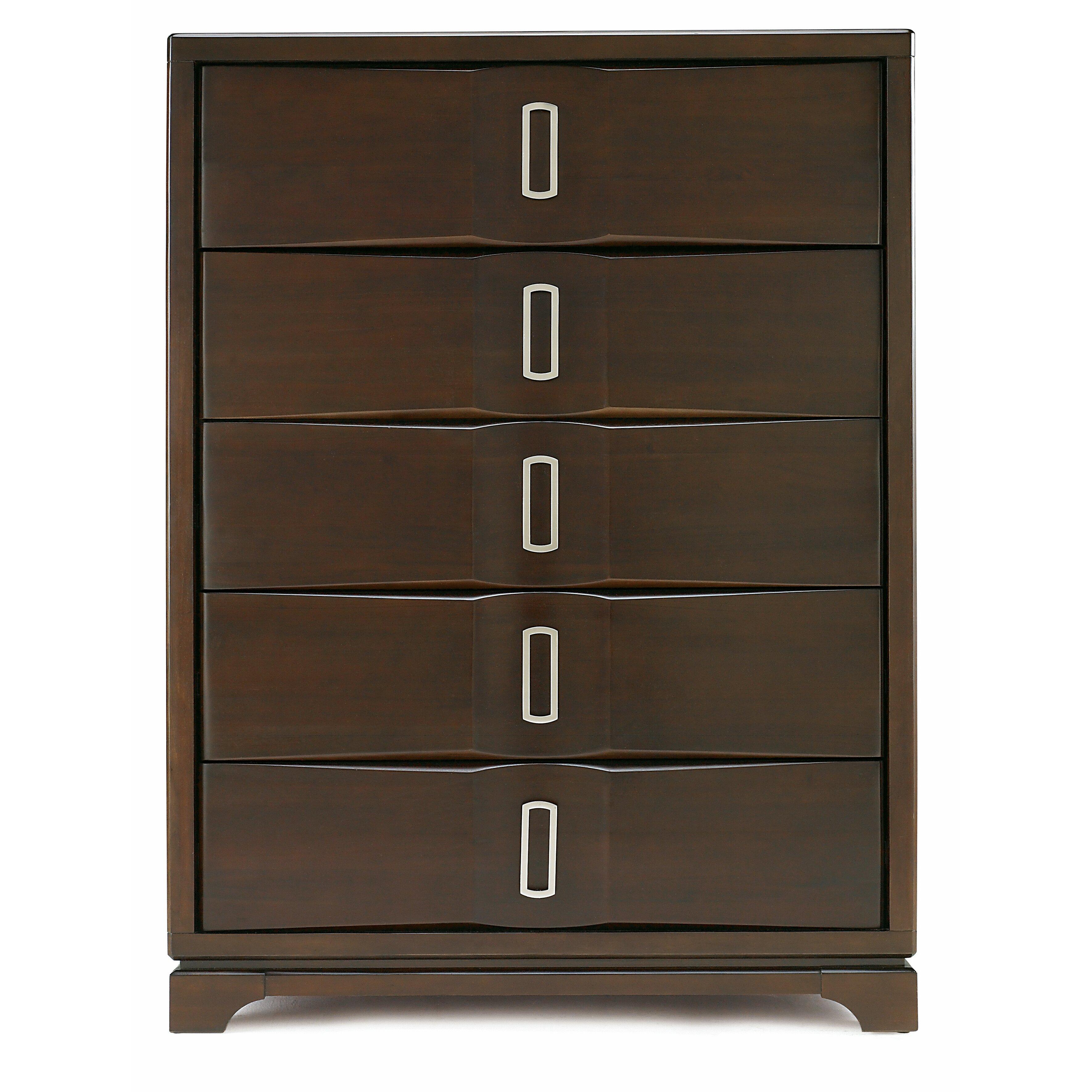 casana furniture company brooke 5 drawer chest wayfair