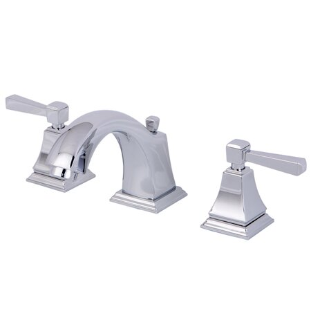 Kingston Brass Monarch Double Handle Widespread Bathroom Faucet With Pop Up Drain Reviews