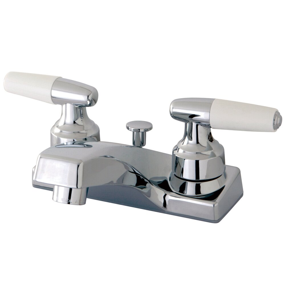 Kingston Brass Americana Double Handle Centerset Bathroom
