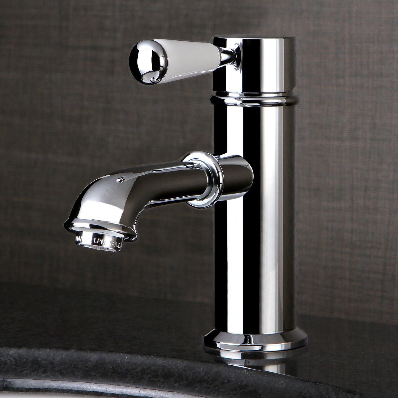Kingston Brass Paris Single Handle Single Hole Lavatory Faucet With Brass Pop Up Drain Reviews