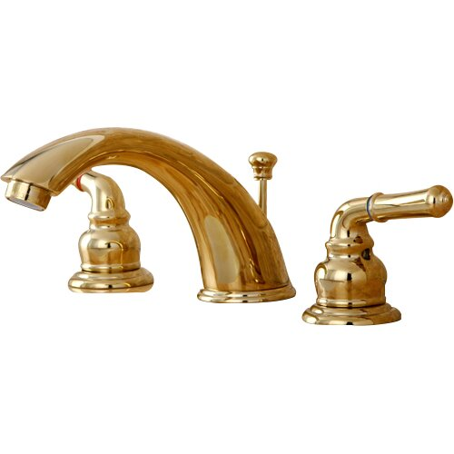 Kingston Brass Magellan Double Handle Widespread Bathroom Faucet With Abs Pop Up Drain Reviews