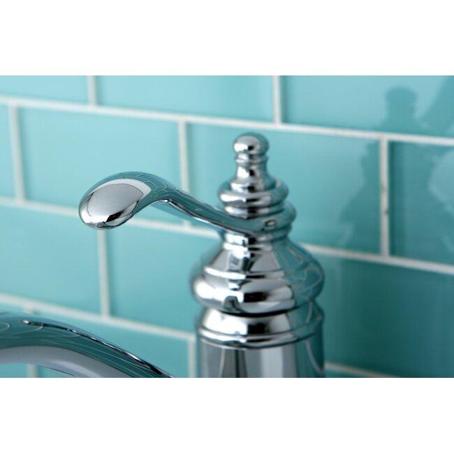 Kingston Brass Templeton Single Handle Bathroom Faucet With Push Up Drain Reviews Wayfair