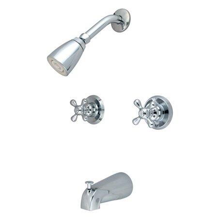 Kingston Brass Magellan Tub And Shower Faucet Reviews Wayfair