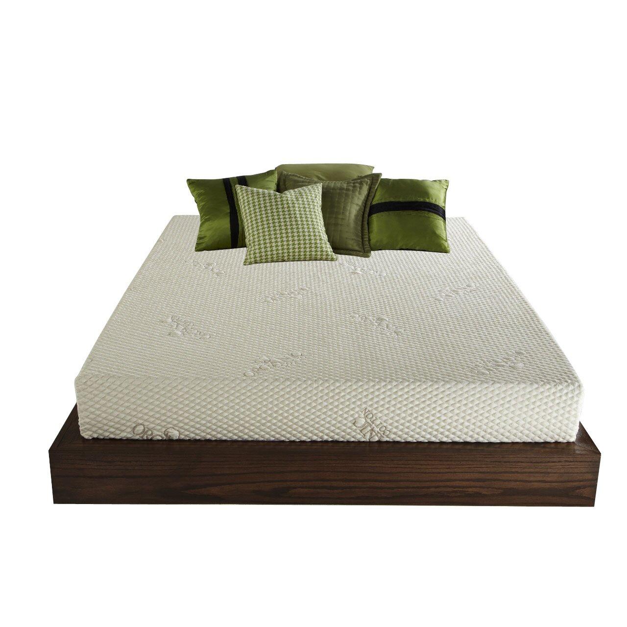 Plush Beds Mobileplush 8 Latex Foam Mattress Reviews Wayfair