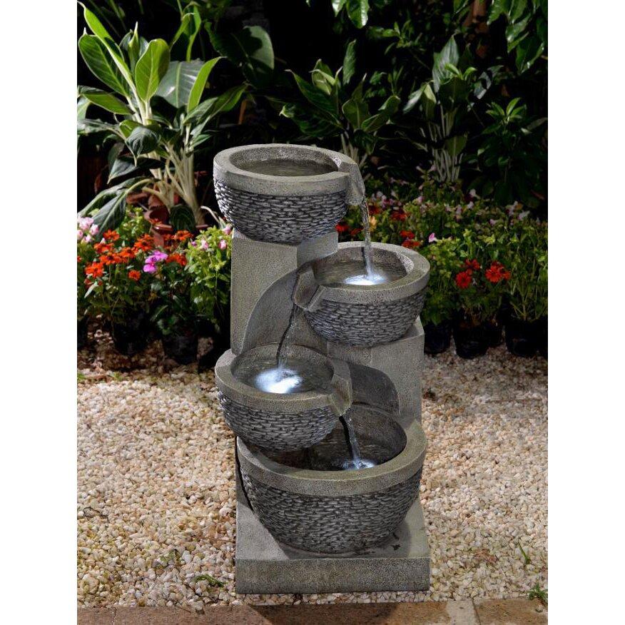 Jeco Inc Polyresin And Fiberglass Multi Tier Bowls