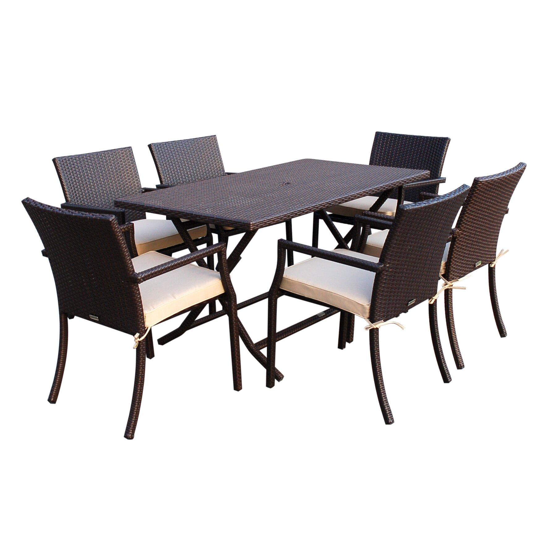 Patio Furniture  Piece Dining Set