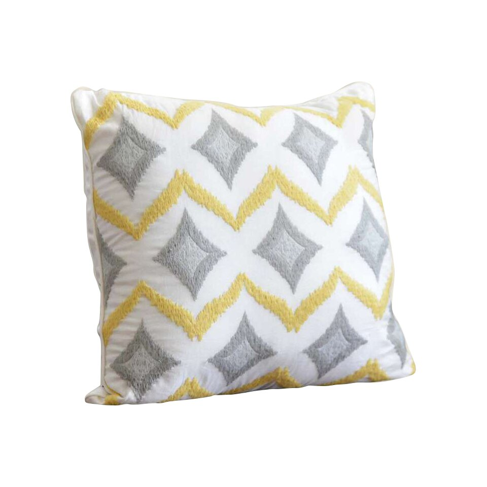 Nostalgia Home Piper Cotton Throw Pillow & Reviews Wayfair