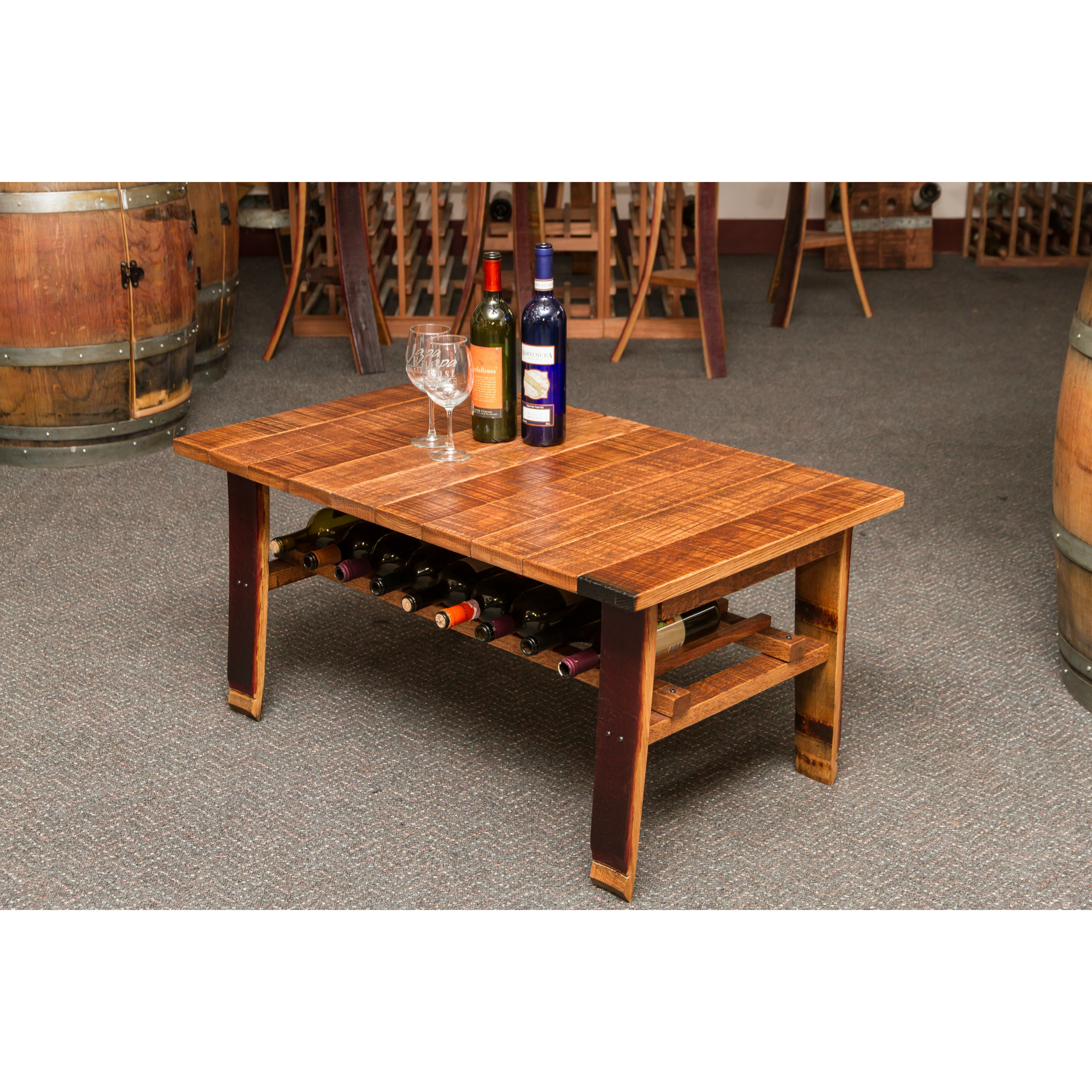 Napa East Collection Wine Country Coffee Table Wayfair