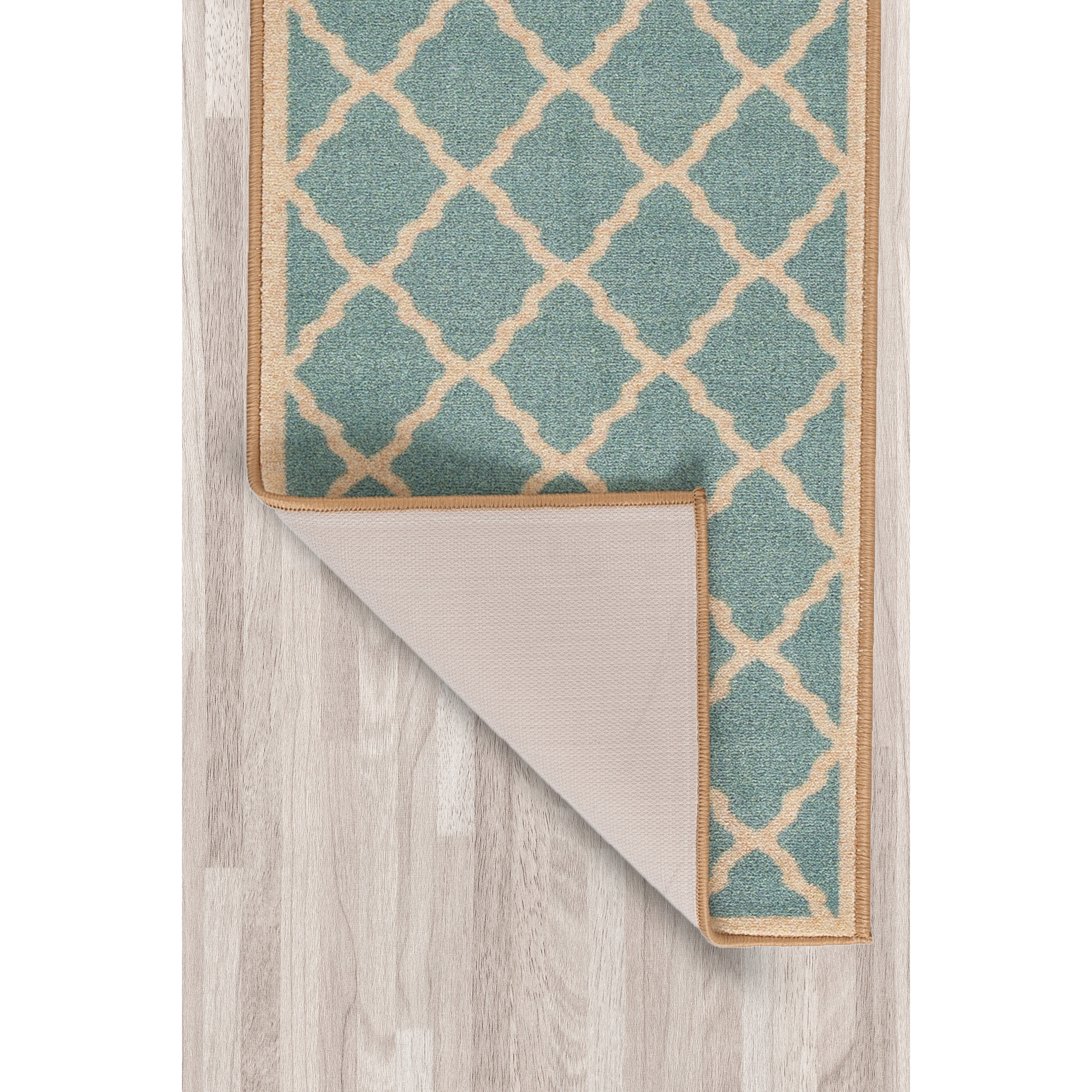 Ottomanson Prestige Teal Blue Area Rug & Reviews