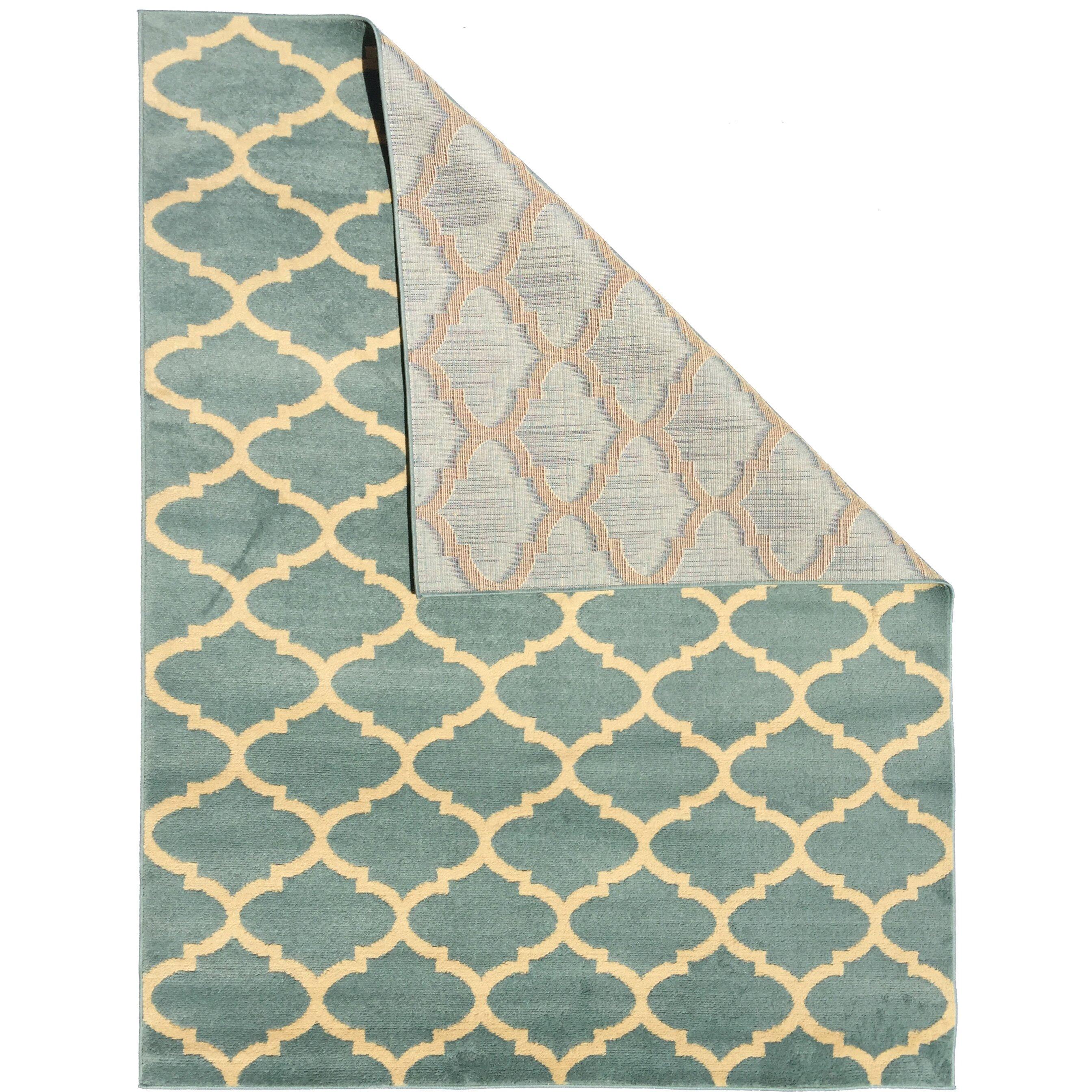 ottomanson royal sage green area rug reviews wayfair. Black Bedroom Furniture Sets. Home Design Ideas