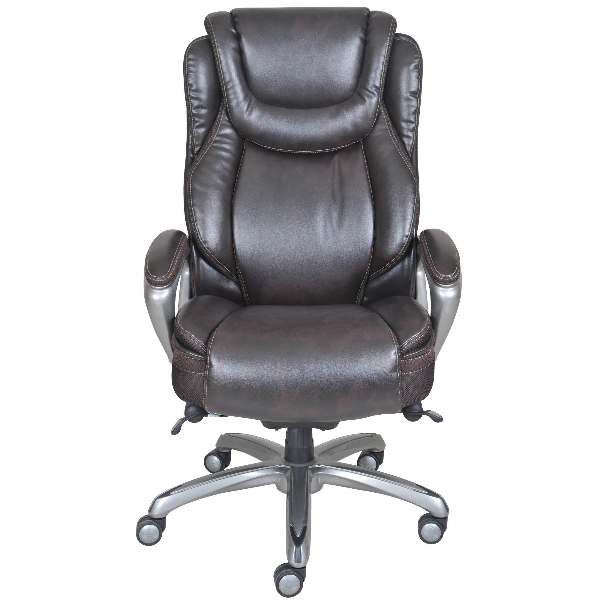 Serta At Home Harmony High Back Executive Chair Reviews Wayfair